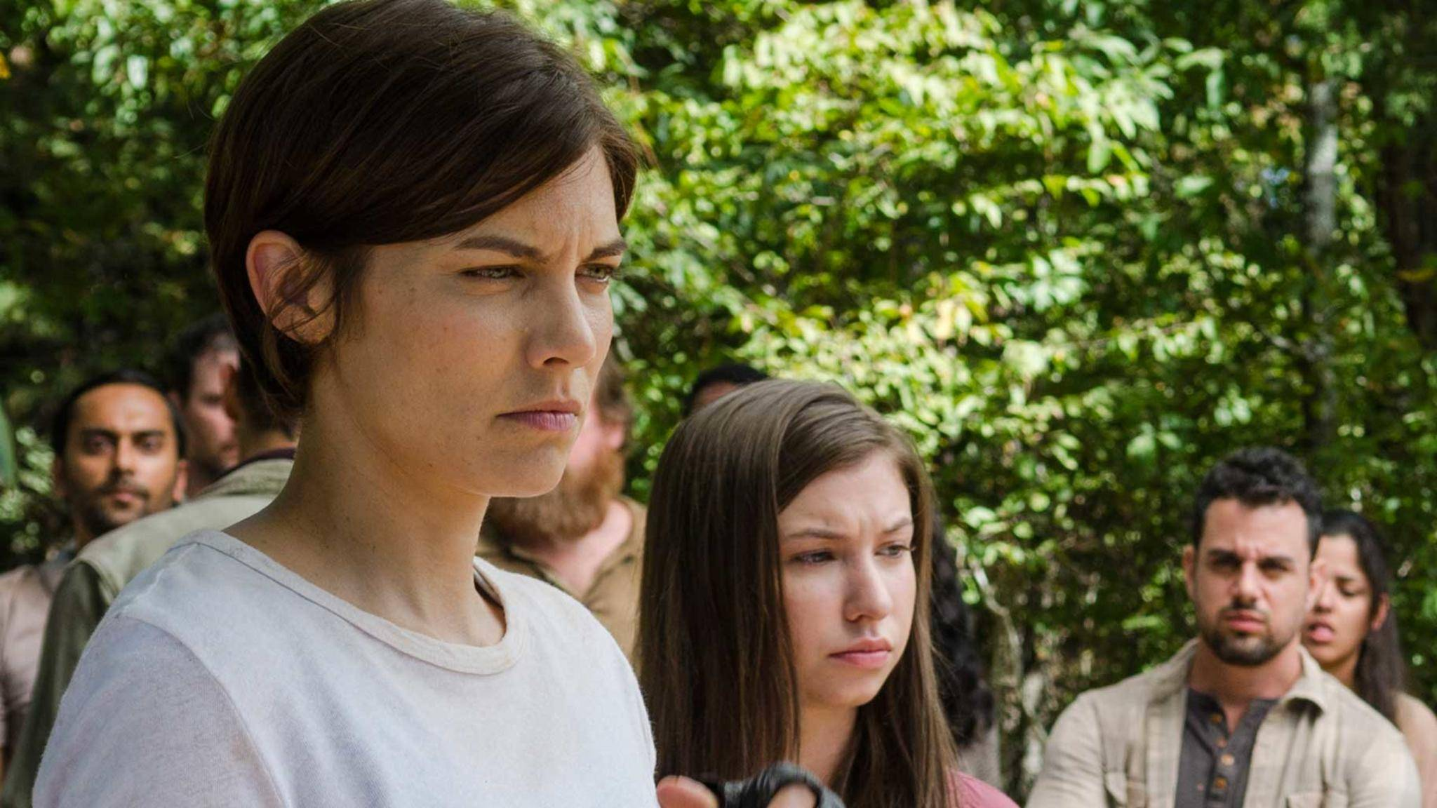 """""""The Walking Dead"""": Auch Maggie rüstet sich für den Kampf."""