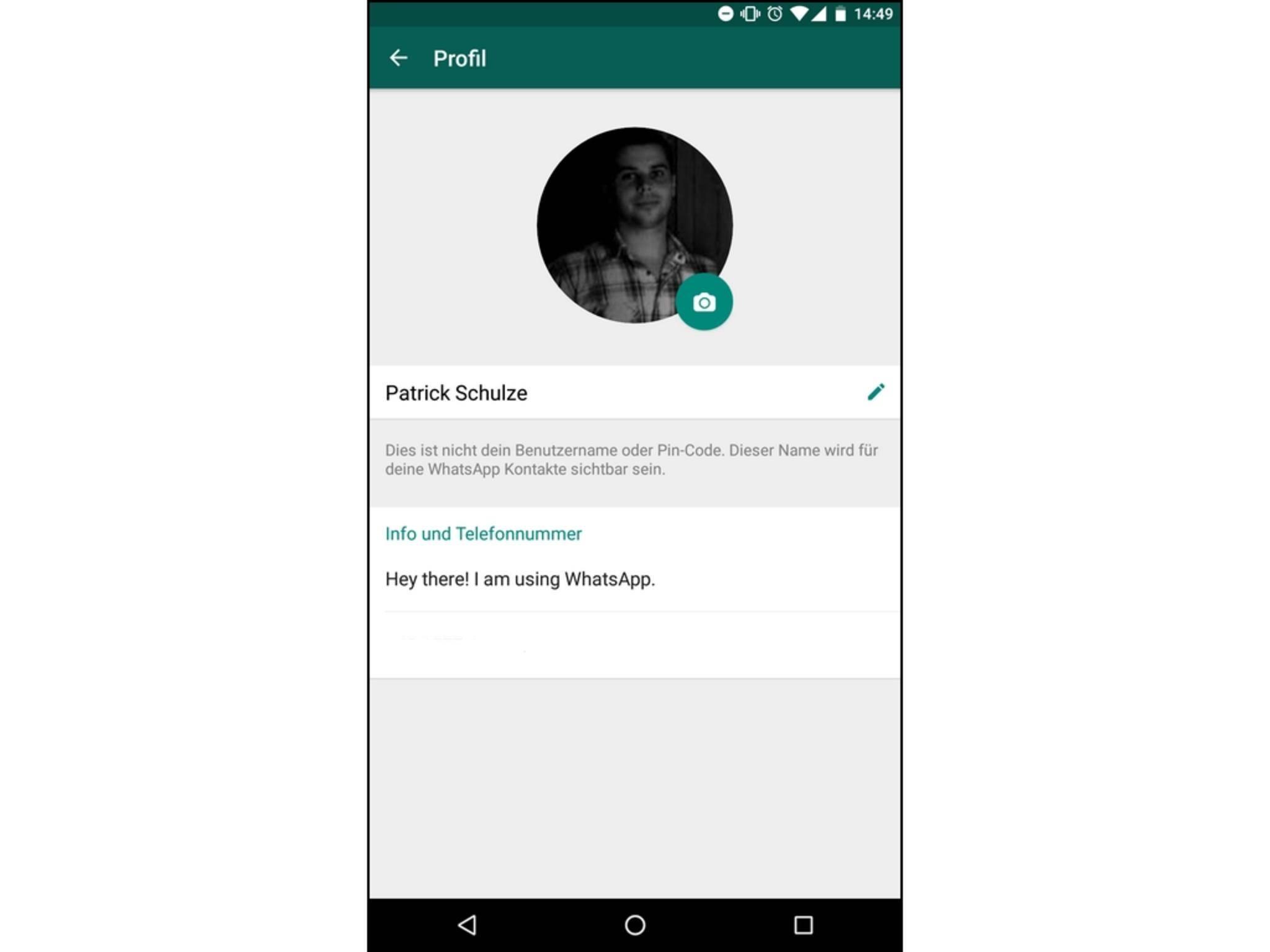Alten whatsapp status in android wieder aktivieren so geht 39 s for Whatsapp status ideen