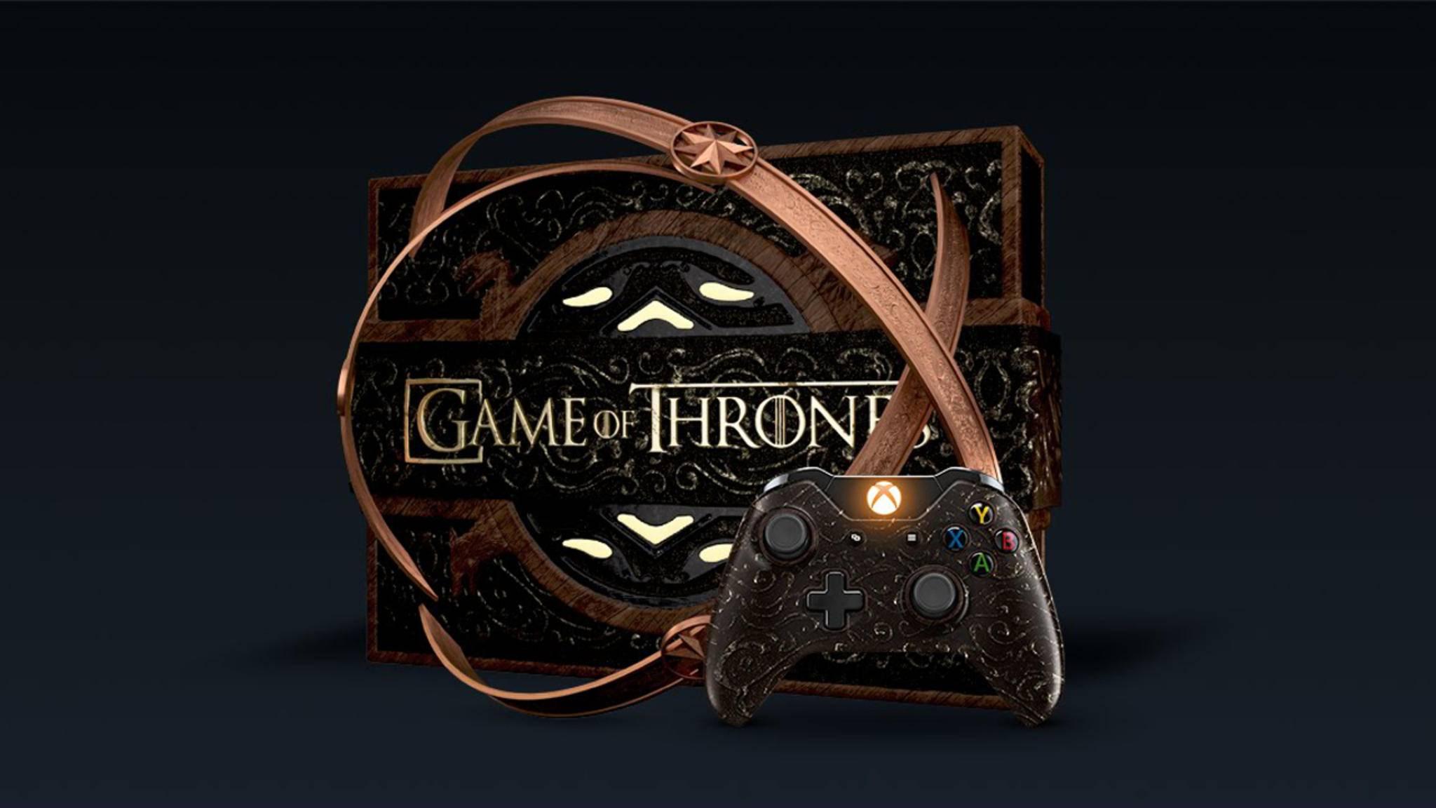 """Nicht wirklich praktisch: die """"Game of Thrones""""-Edition der Xbox One."""