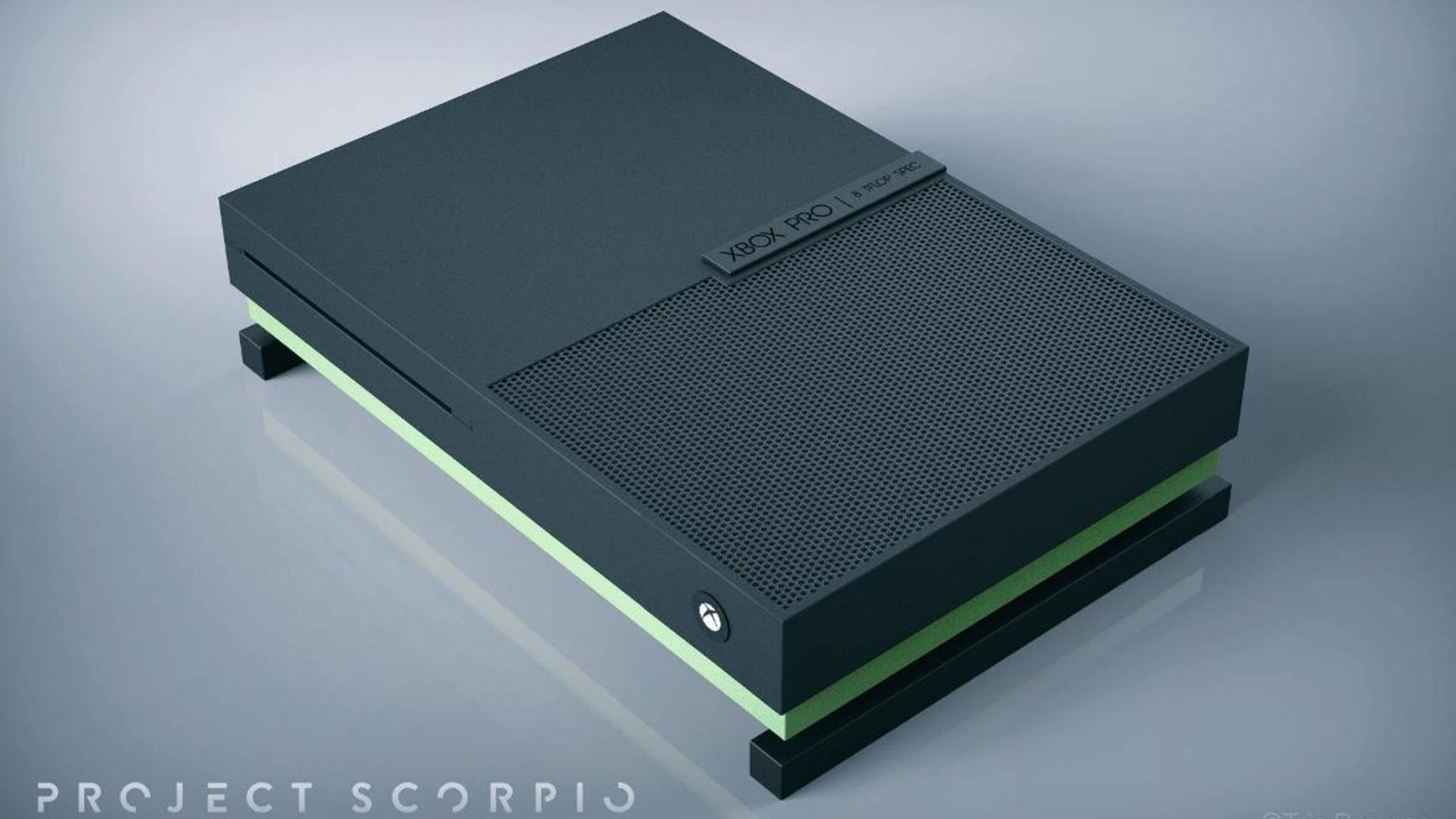 Wird die Xbox Scorpio so aussehen? Zur E3 wissen wir vermutlich mehr ...