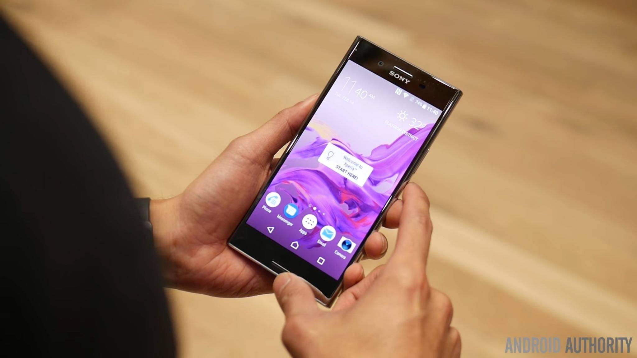 Die Technik im Sony Xperia XZ Premium ist jener der Konkurrenz zum Teil überlegen.
