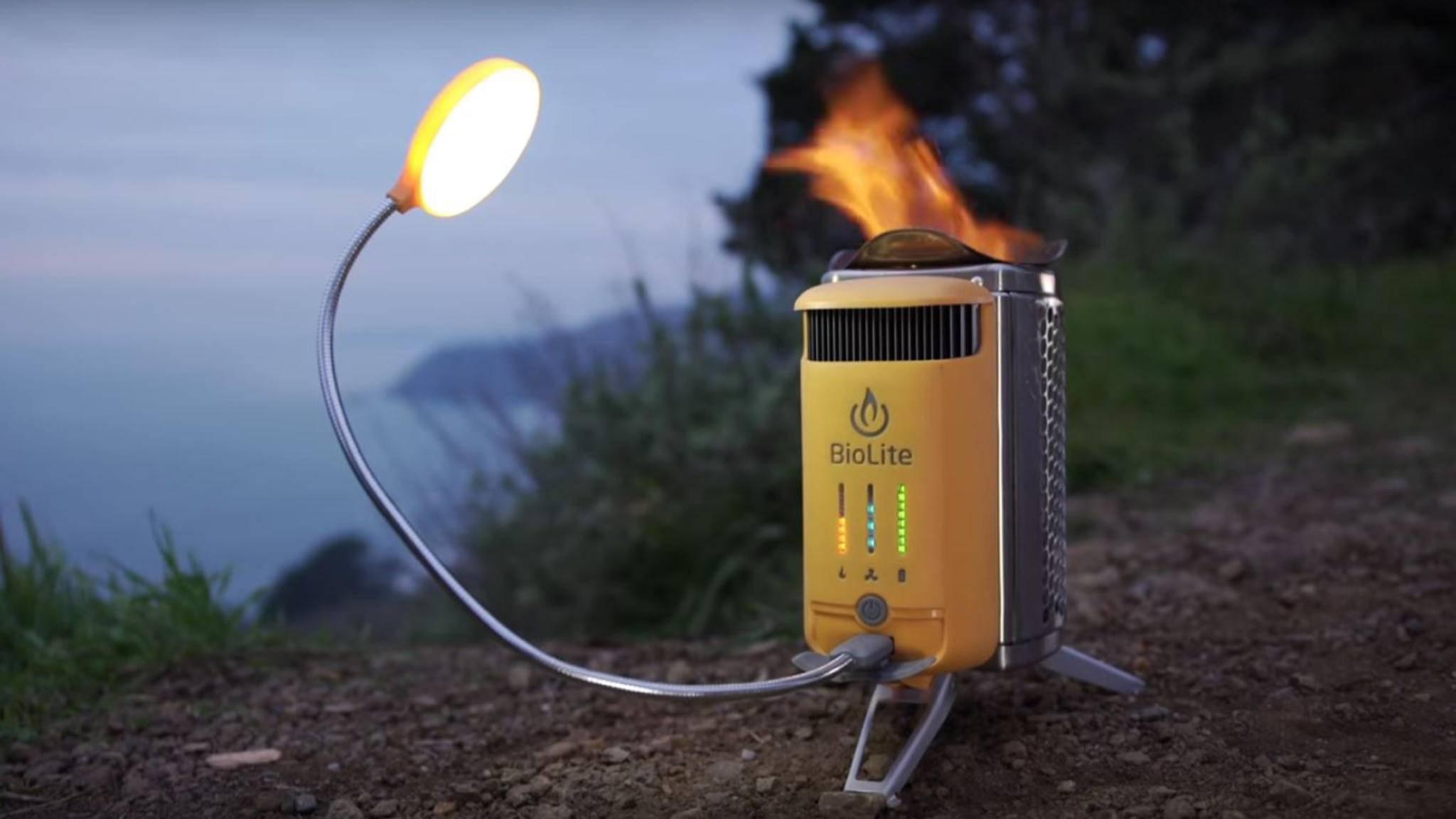Der CampStove 2 ist sicher einer der smartesten Camping-Kocher auf dem Markt.