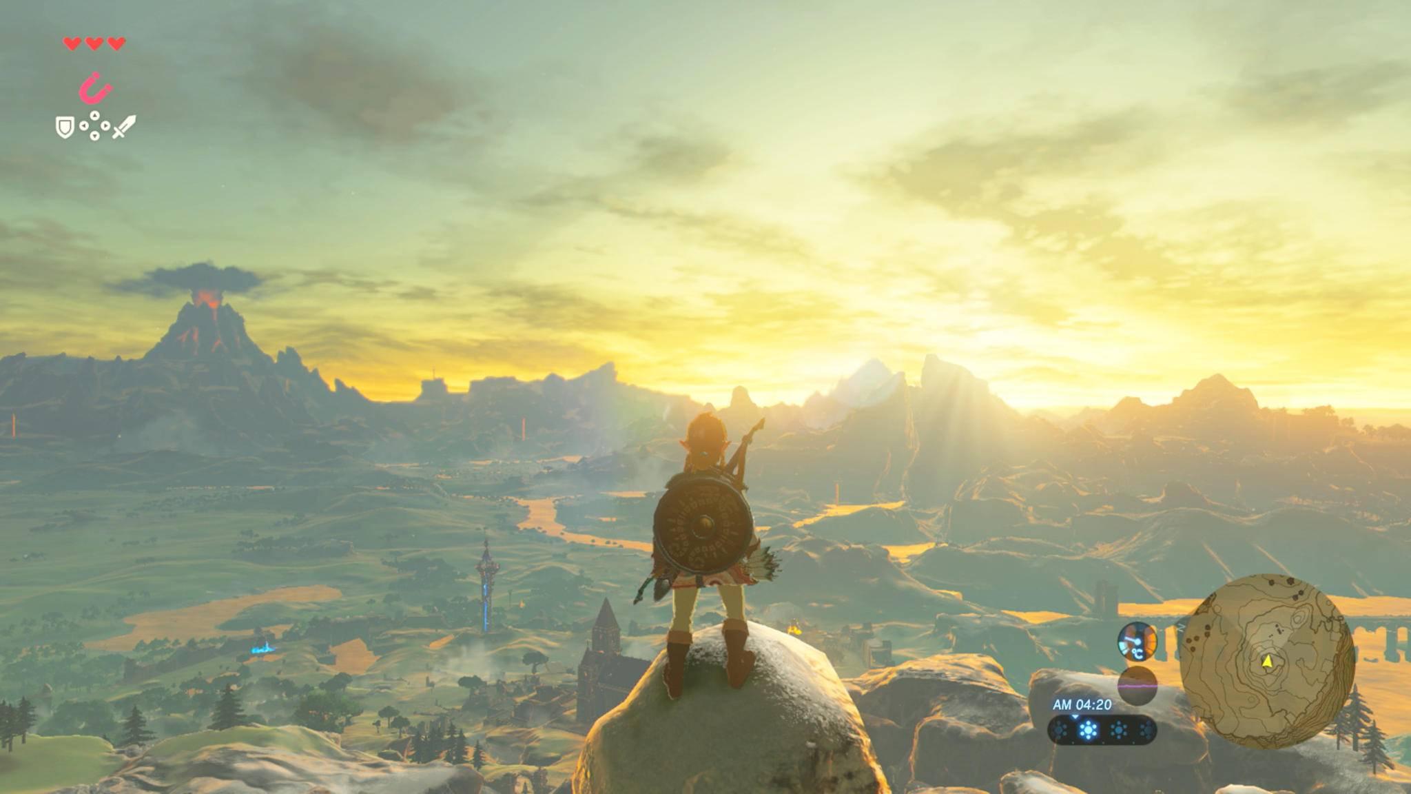 """""""Zelda: Breath of the Wild 2"""" nutzt die gleiche Spielwelt wie Teil 1"""