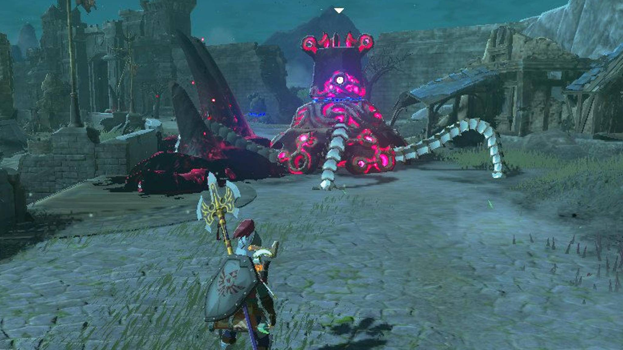 Zelda Breath of the Wild Waechter