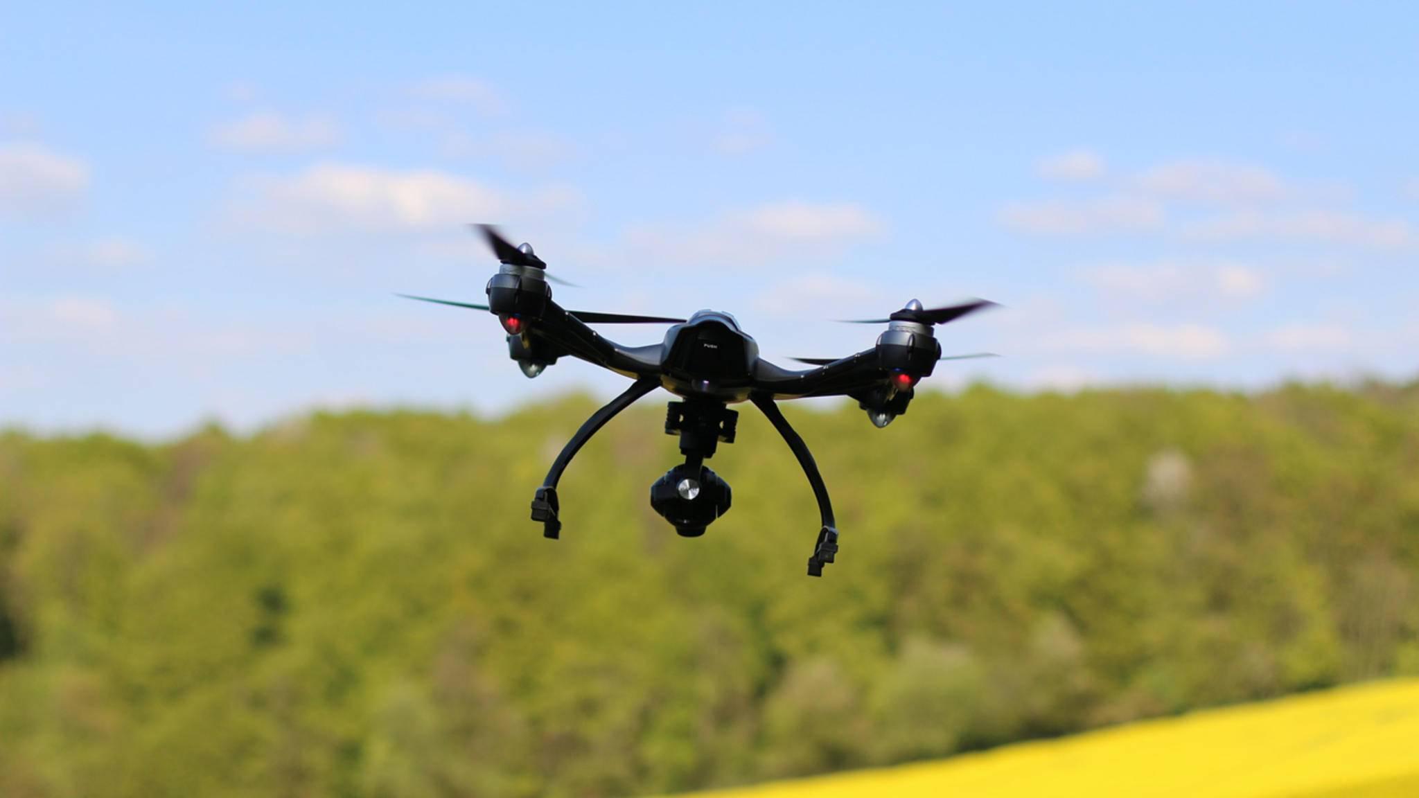 Bitte lächeln! Drohnen lassen Deine Kamerakünste abheben.