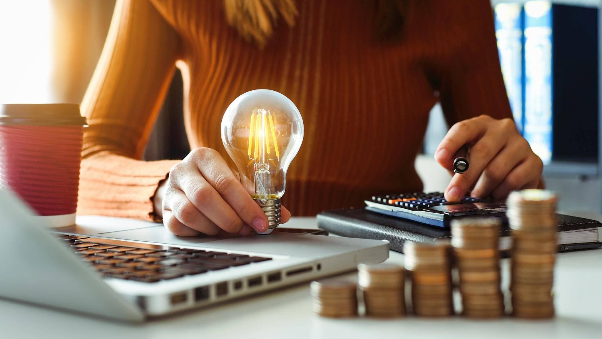 energie-sparen-haushalt-laptop-birne