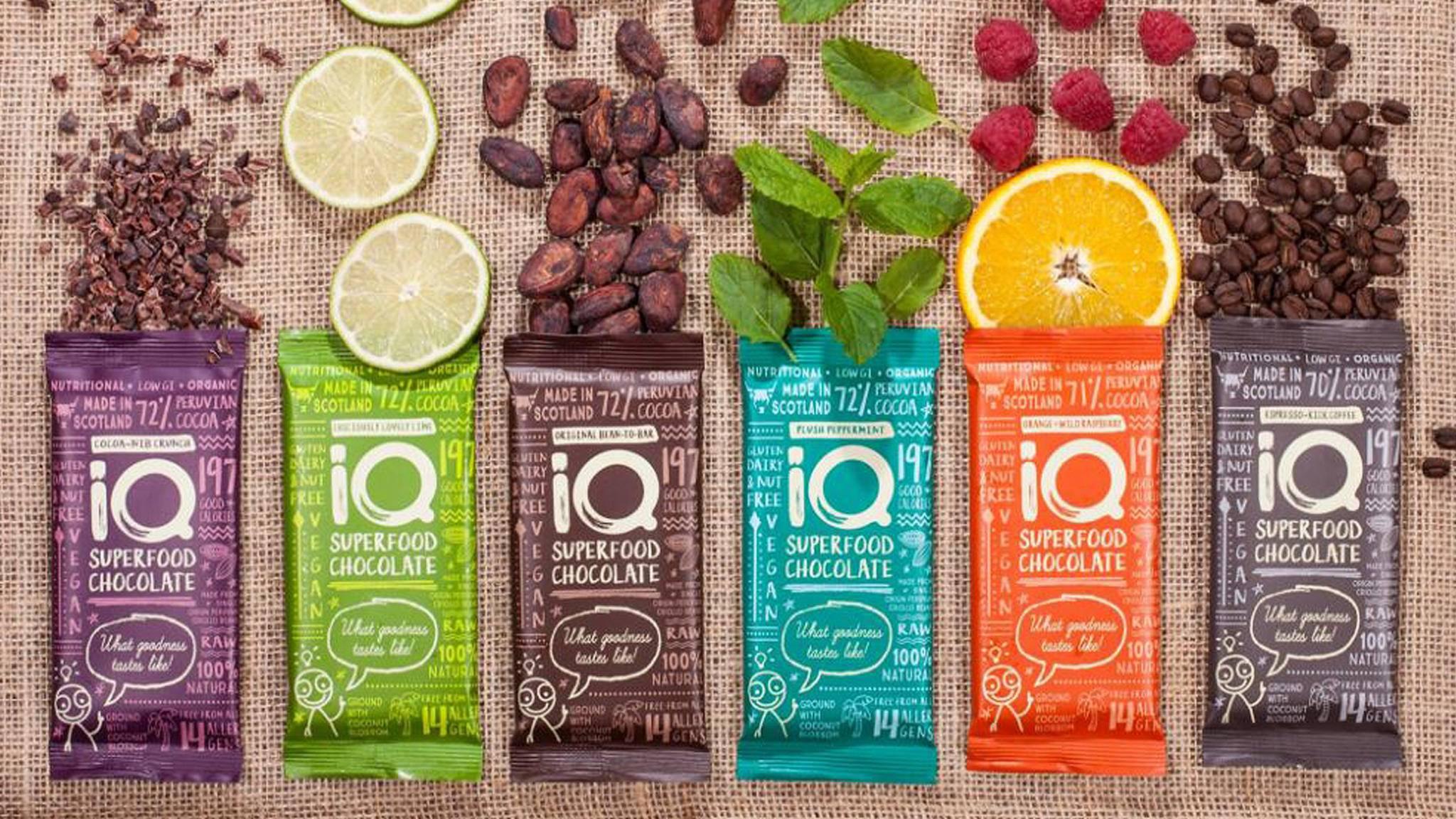 Schokolade als Superfood? Ein britisches Start-up macht's möglich.