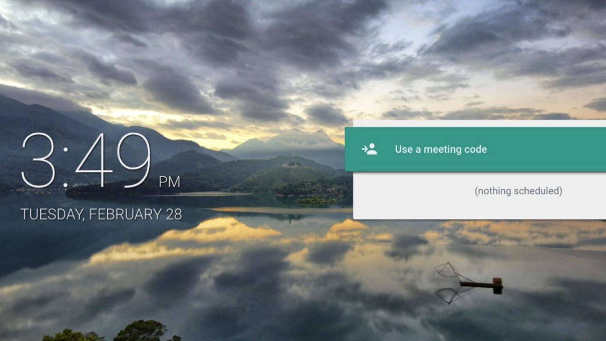 Google Meet ist eine Hangouts-Variante für Business-Nutzer.