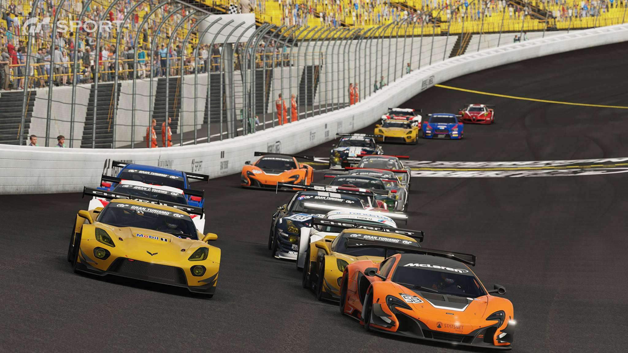 """Um """"Gran Turismo Sport"""" zu spielen, muss man meistens online sein."""