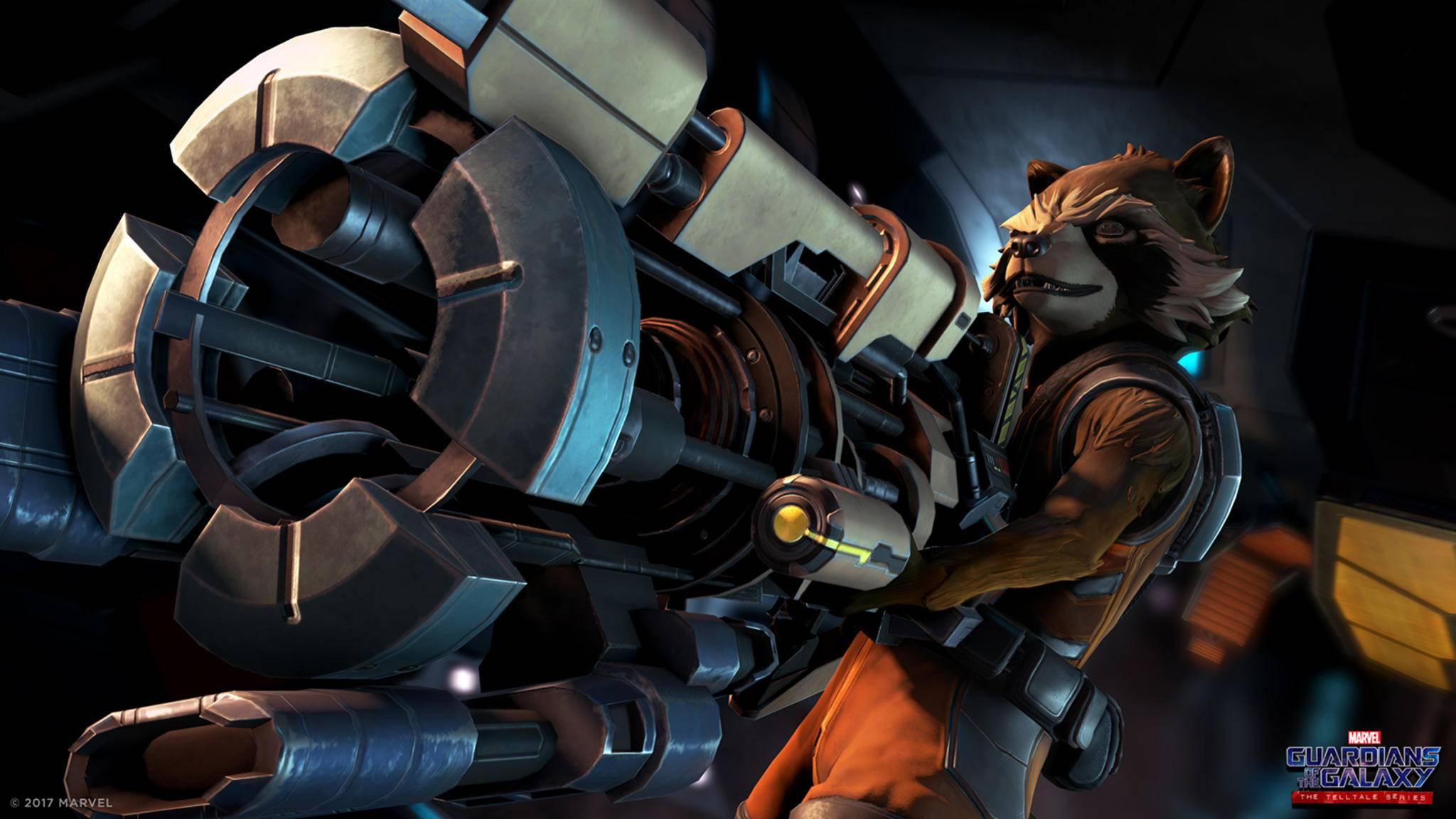 """Das Spiel """"Guardians of the Galaxy: The Telltale Series"""" erscheint vermutlich Mitte April."""