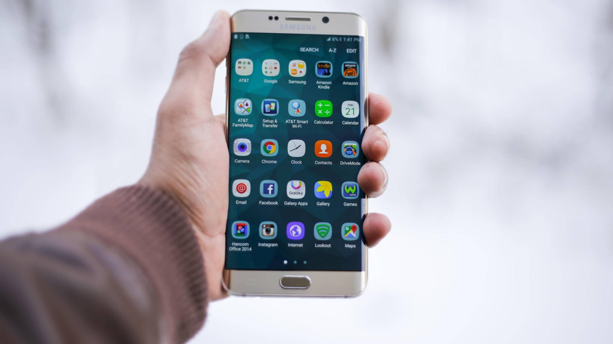 Handy gehackt: Ein Samsung Galaxy S6