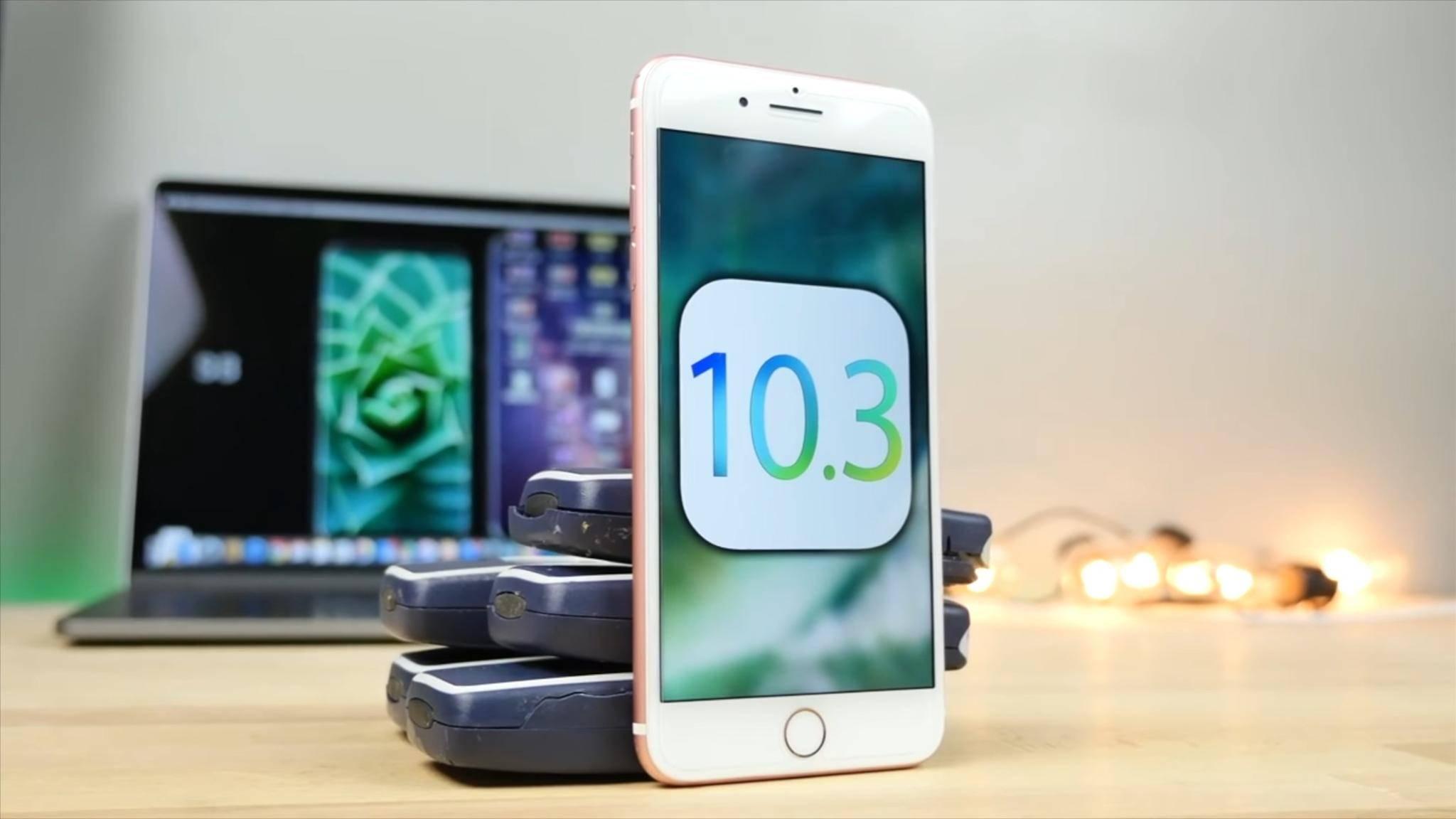 iOS 10.3 erschien ebenfalls in dieser Woche.