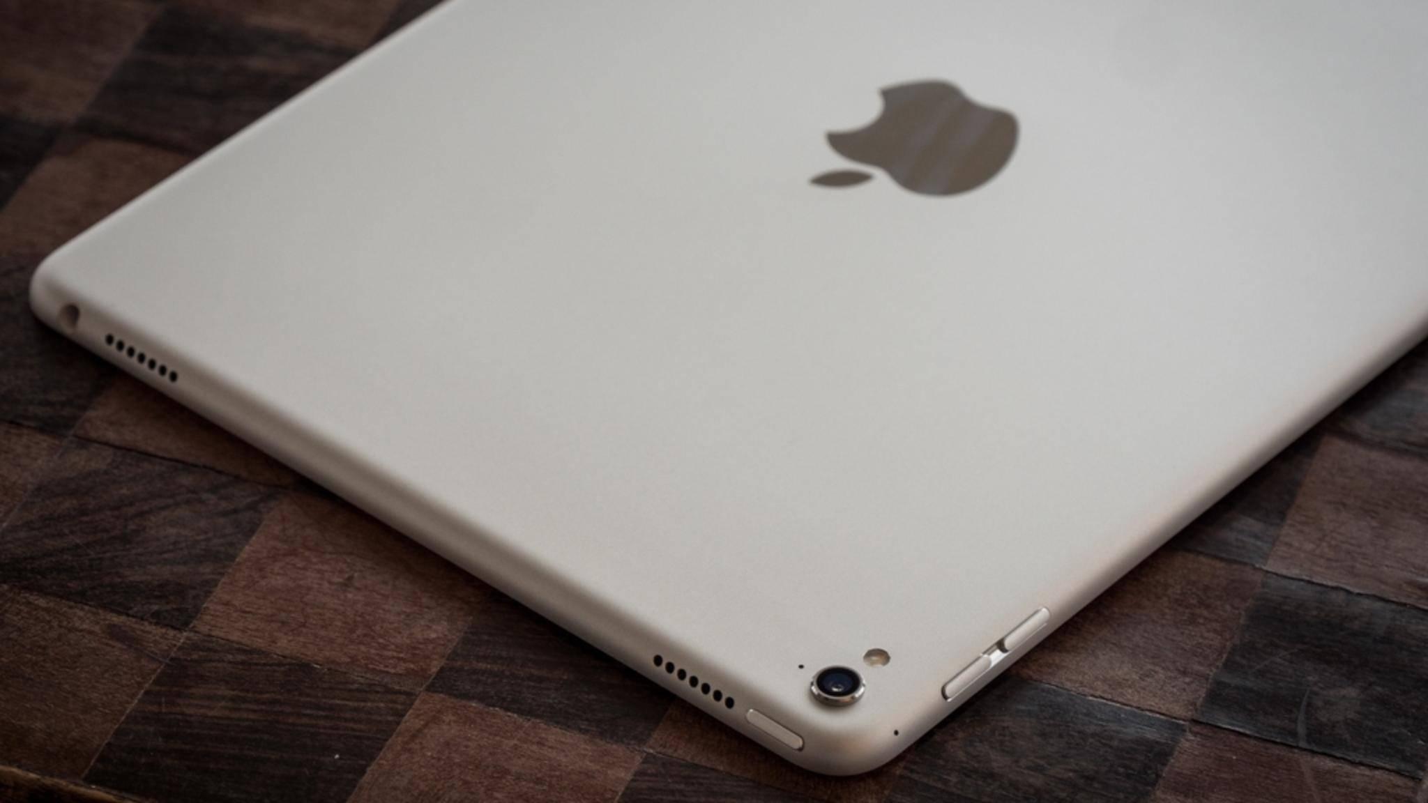 Das iPad Pro 9,7 Zoll könnte bald eine 10,5-Zoll-Version an die Seite gestellt bekommen.