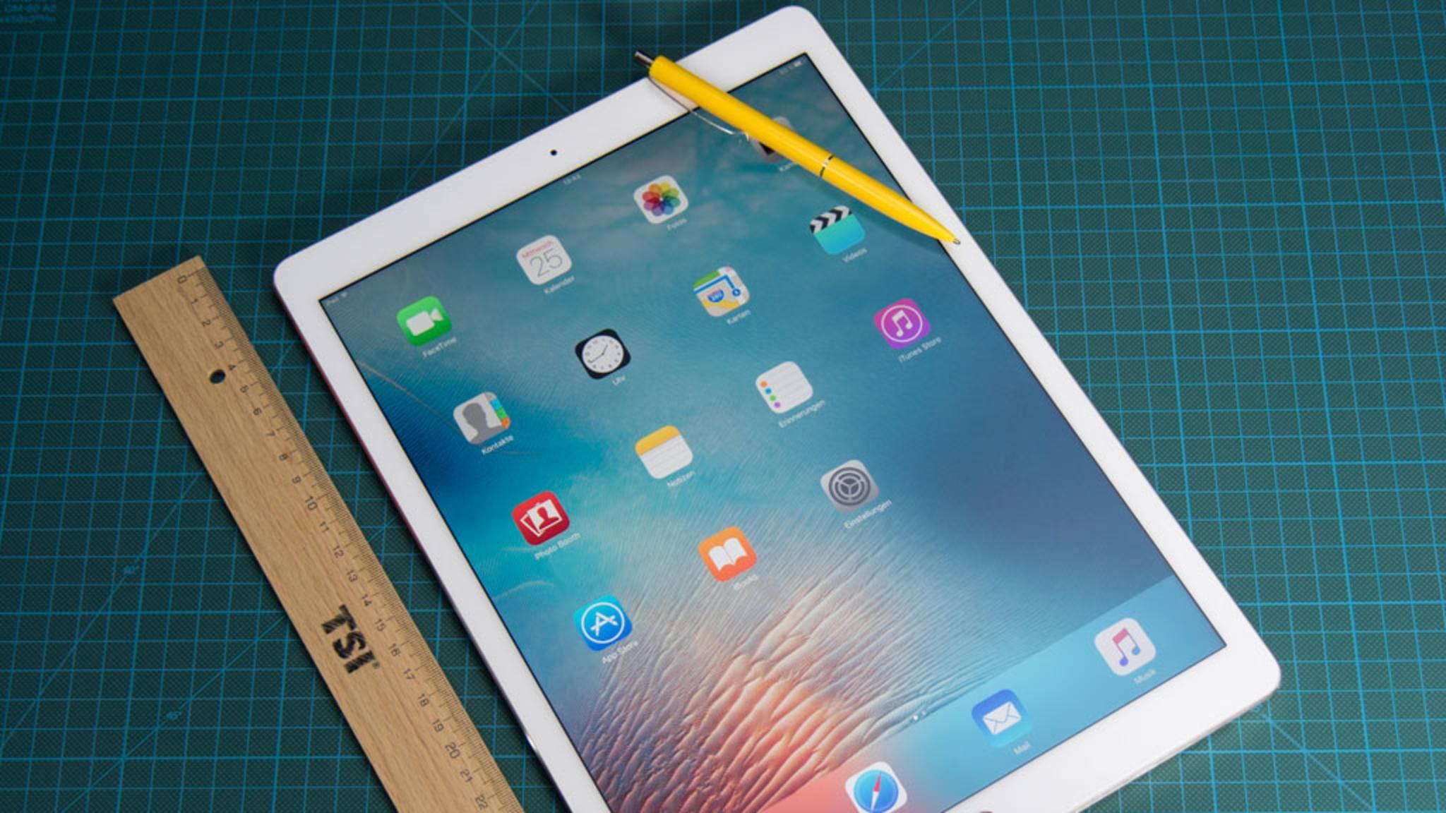 Apple plant den Release neuer iPads.