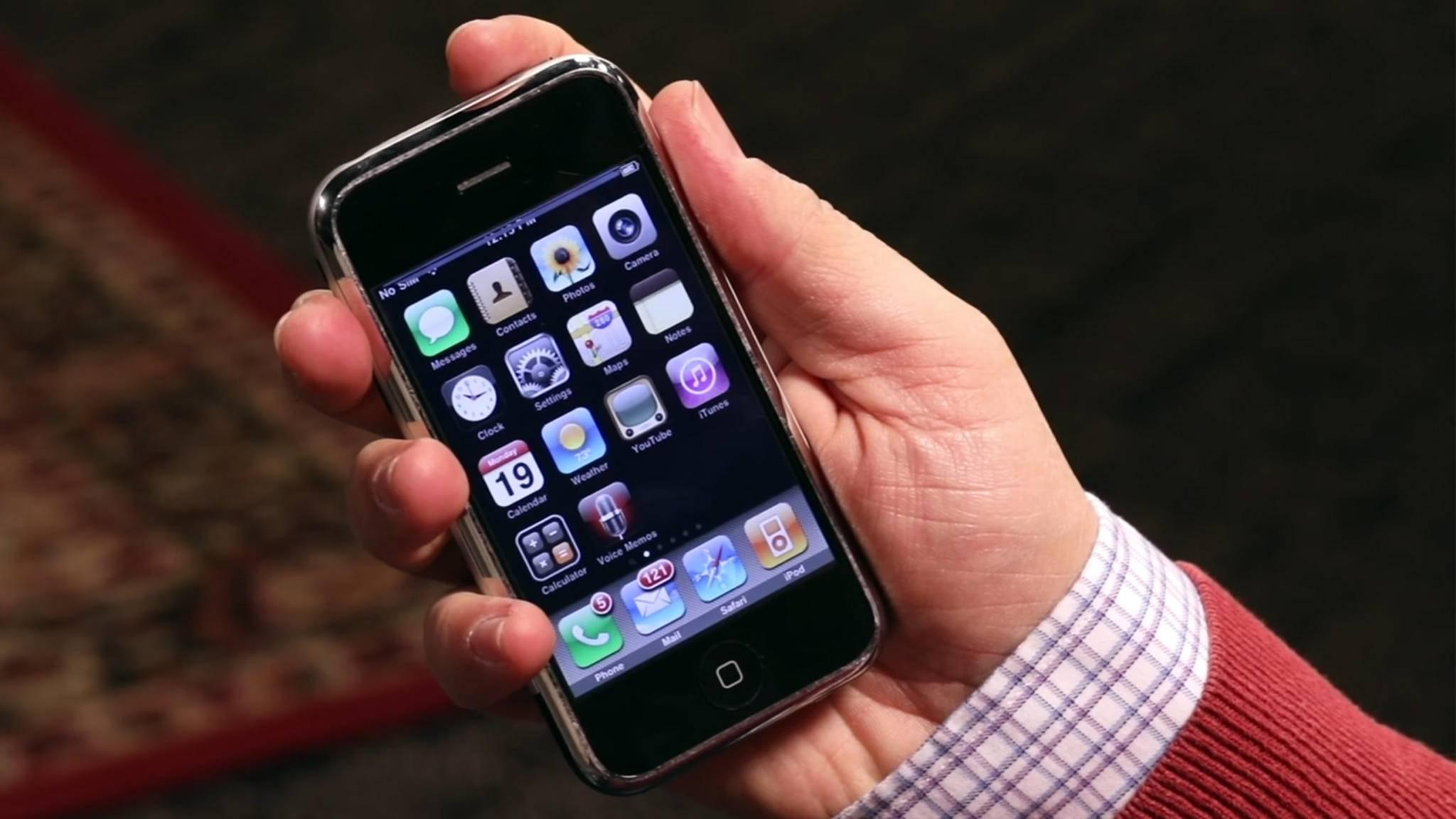 Das iPhone 8 könnte eine Hommage an das erste iPhone von 2007 werden.