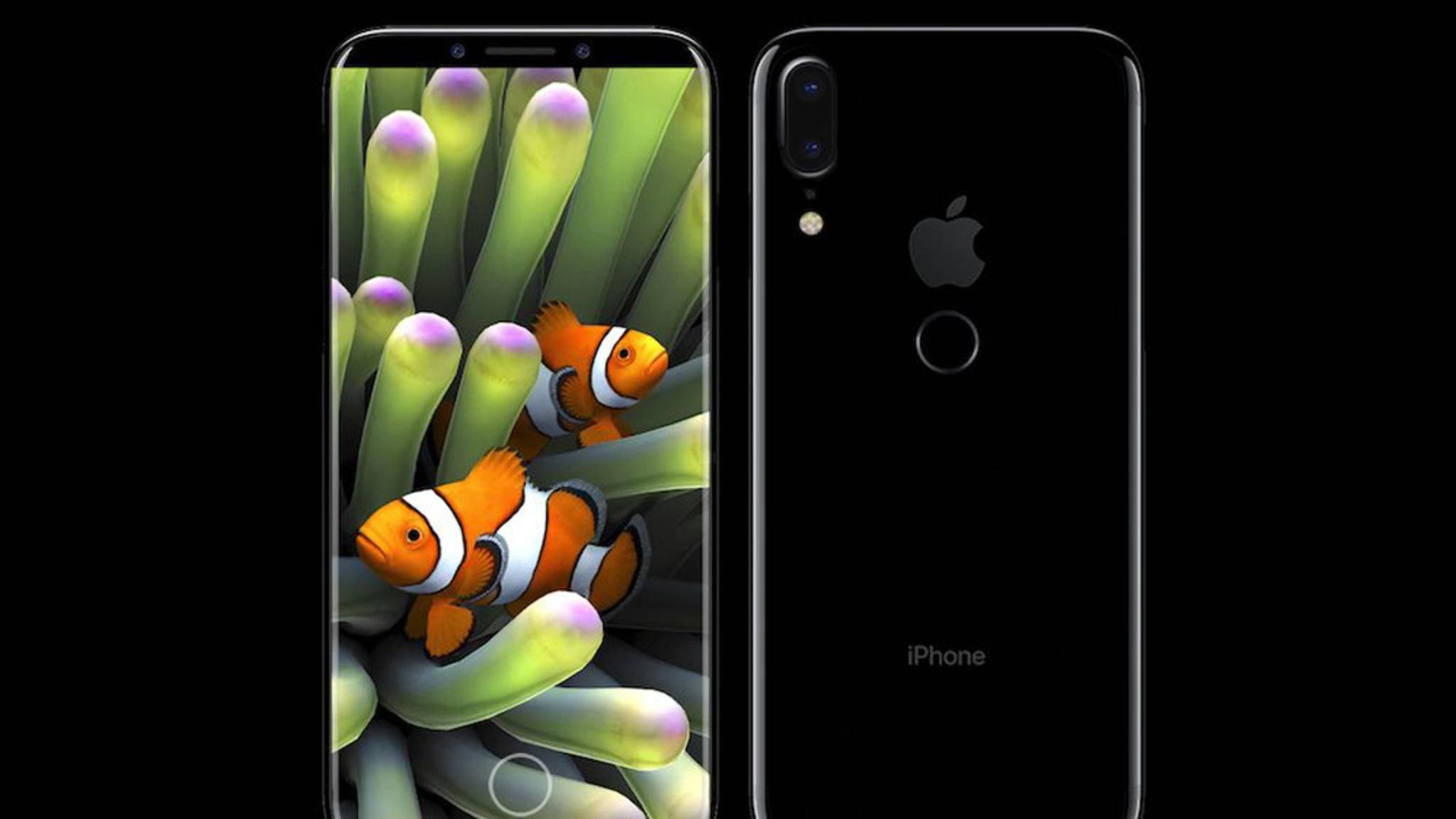 Nicht mehr horizontal, sondern vertikal: So könnte die Dual-Kamera des iPhone 8 aussehen.