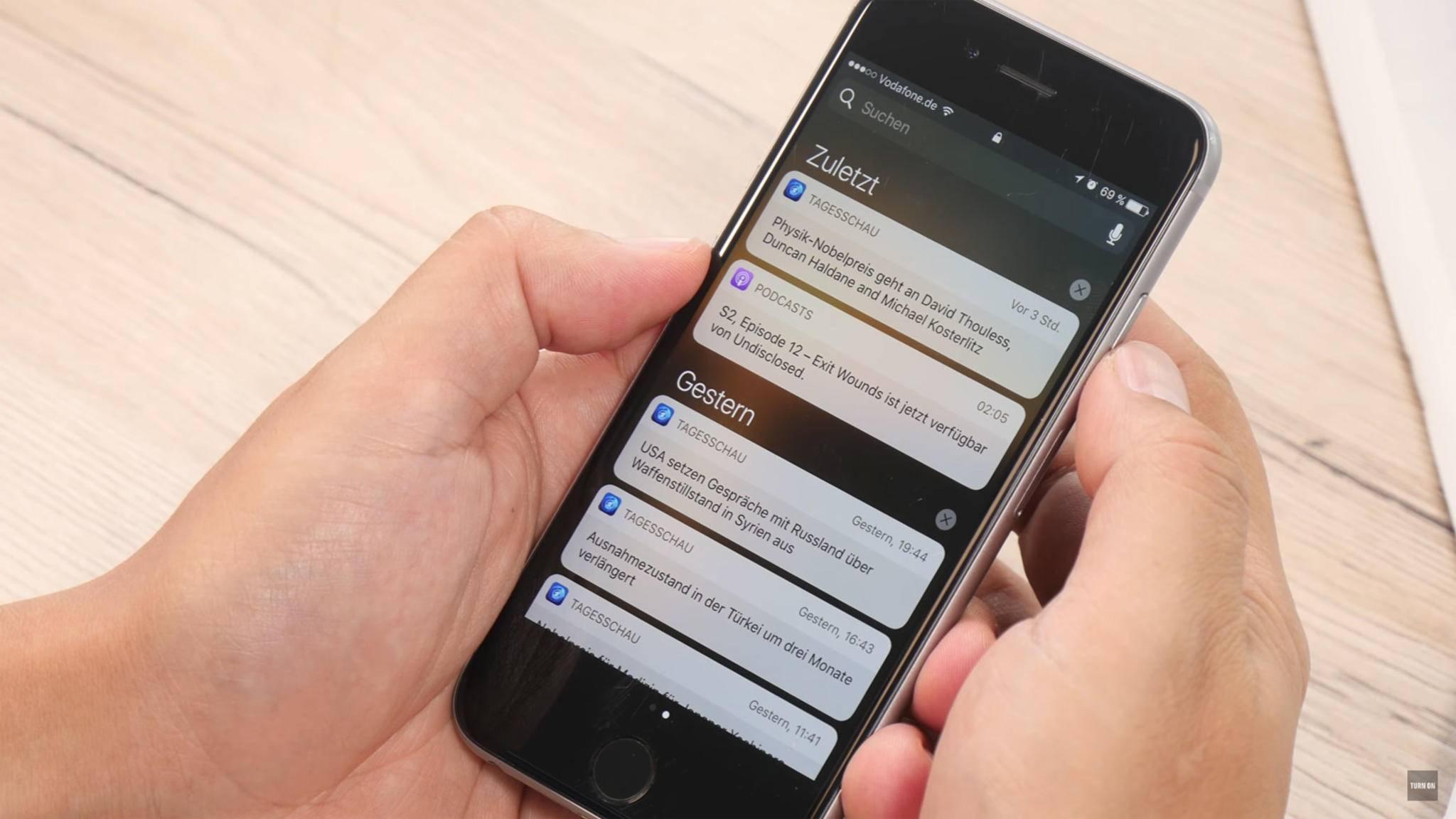Schluss mit dem Benachrichtigungs-Chaos auf dem iPhone: Mit diesen Einstellungen räumst Du auf.