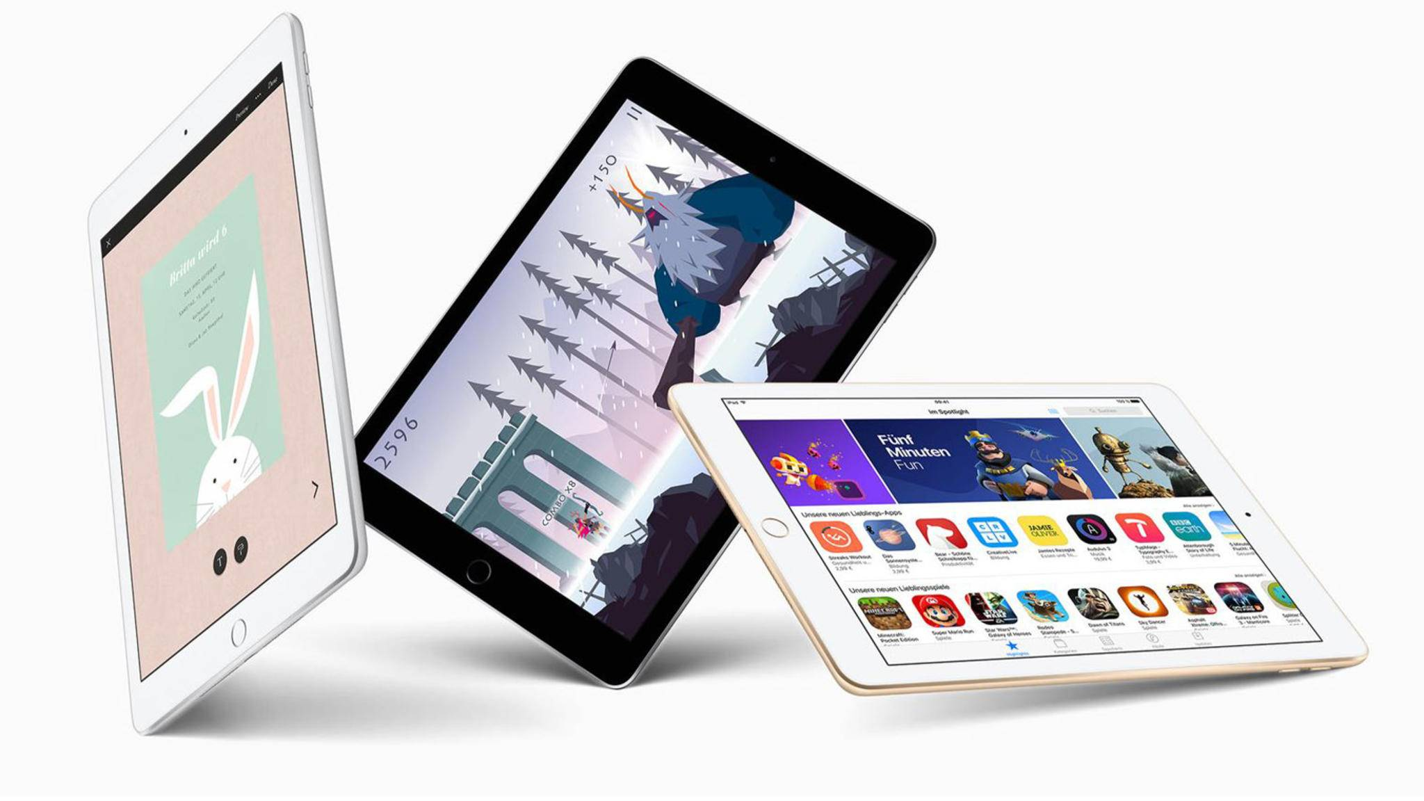 Das iPad 9,7 Zoll ist innen ein iPad Air.