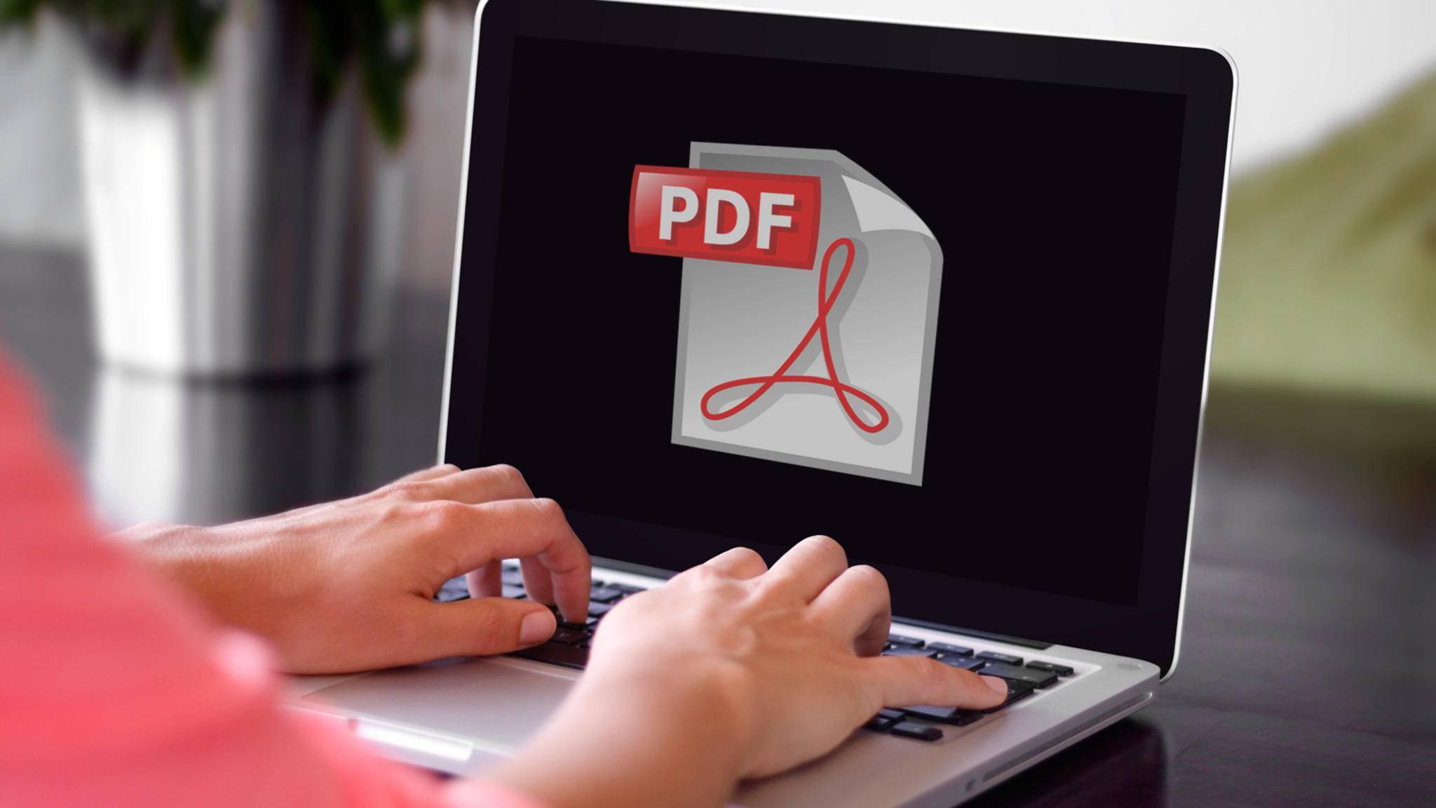 PDF-Dateien lassen sich ganz einfach mit einem kostenlosen Programm erstellen.