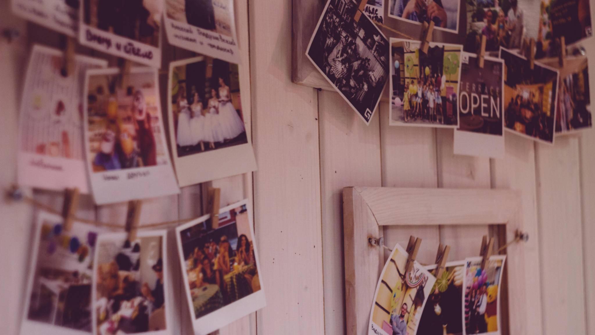 Mit wenigen Handgriffen kannst Du Deine Lieblingsfotos einmalig in Szene setzen.