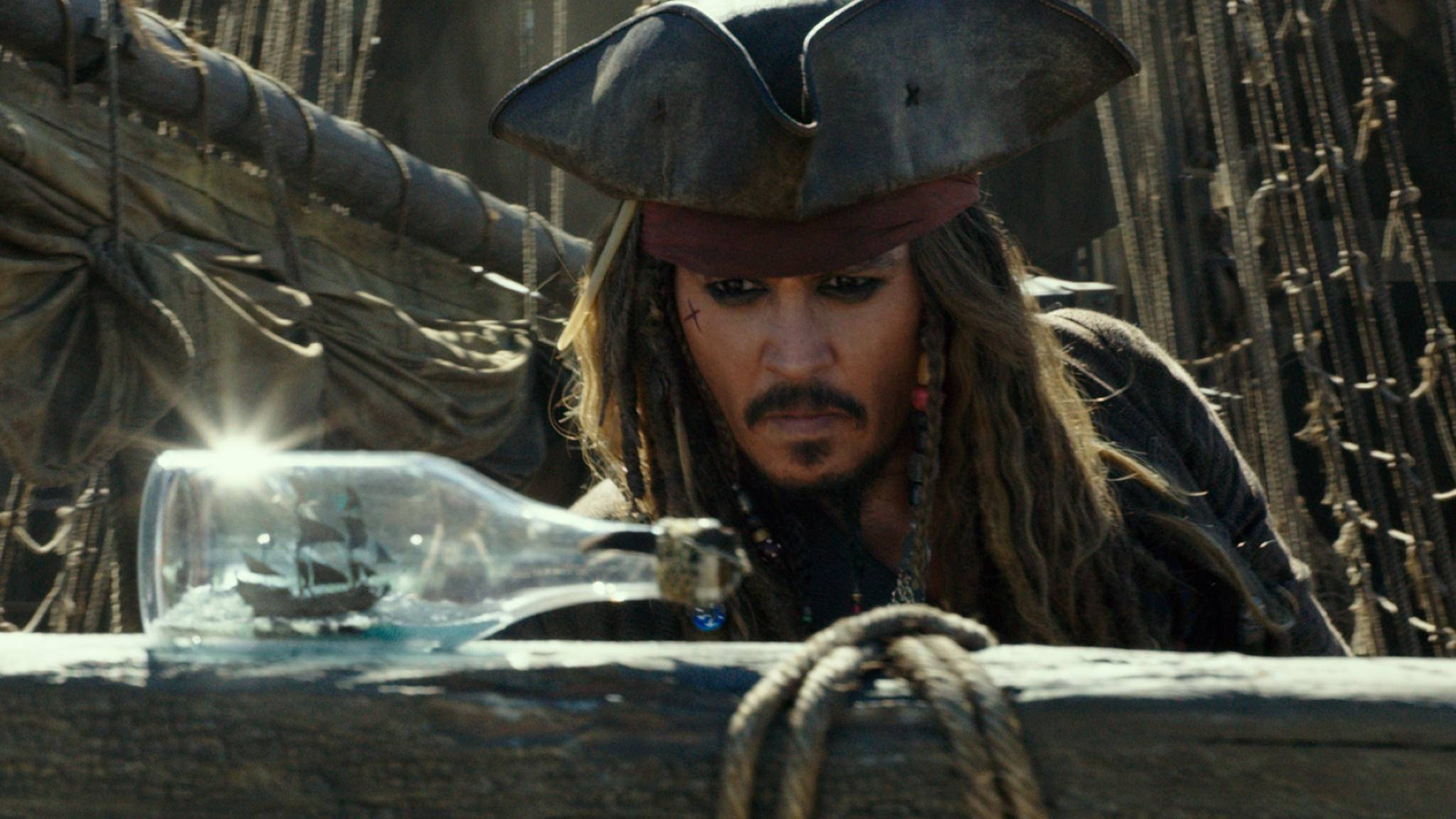 "Torkelt auch mit ""Pirates of the Caribbean 5"" an die Spitze: Jack Sparrow (Johnny Depp)."