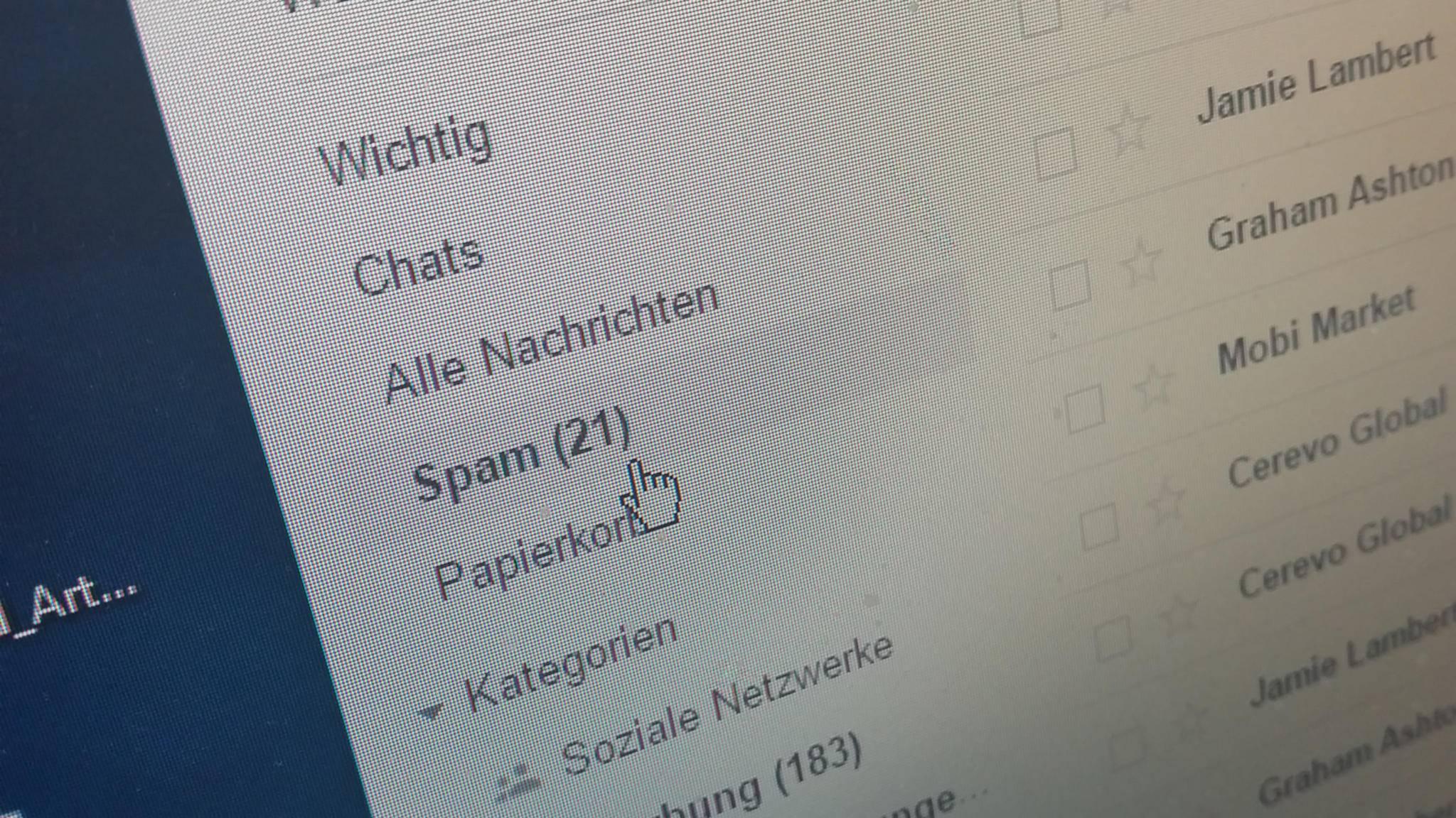 Wir geben Tipps gegen Spam-Mails.