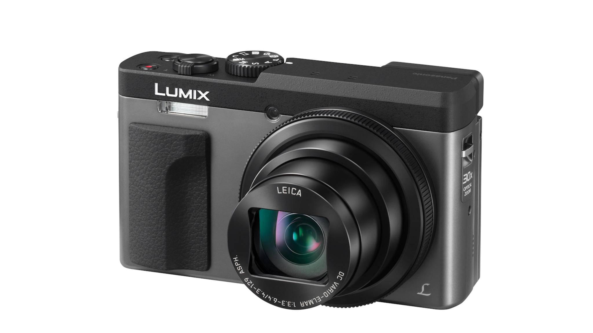 """Panasonic preist die neue Lumix TZ91 als """"ideale Kombination aus Kompaktheit und Zoomstärke"""" an."""