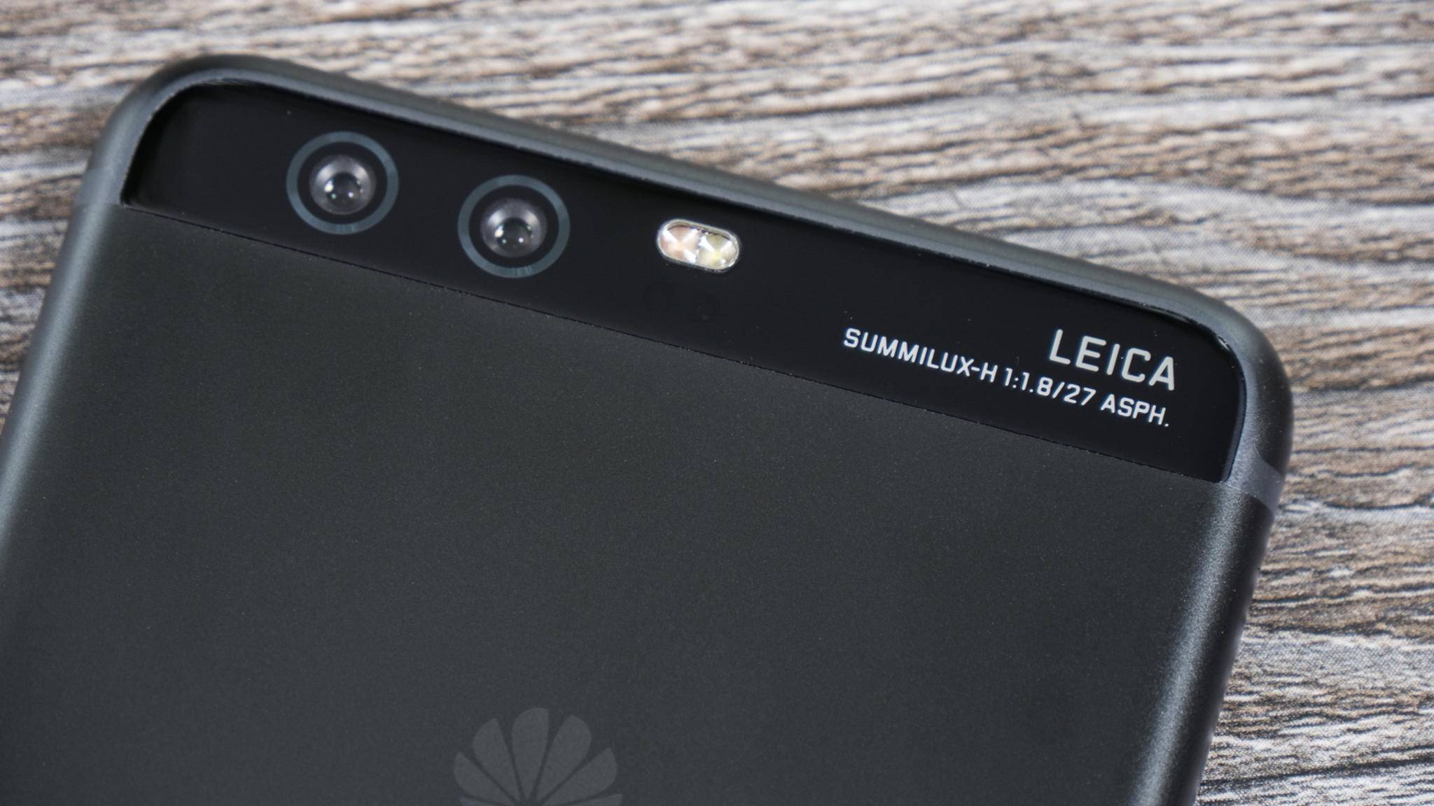 Das Huawei P10 hat eine Dual-Kamera auf der Rückseite.