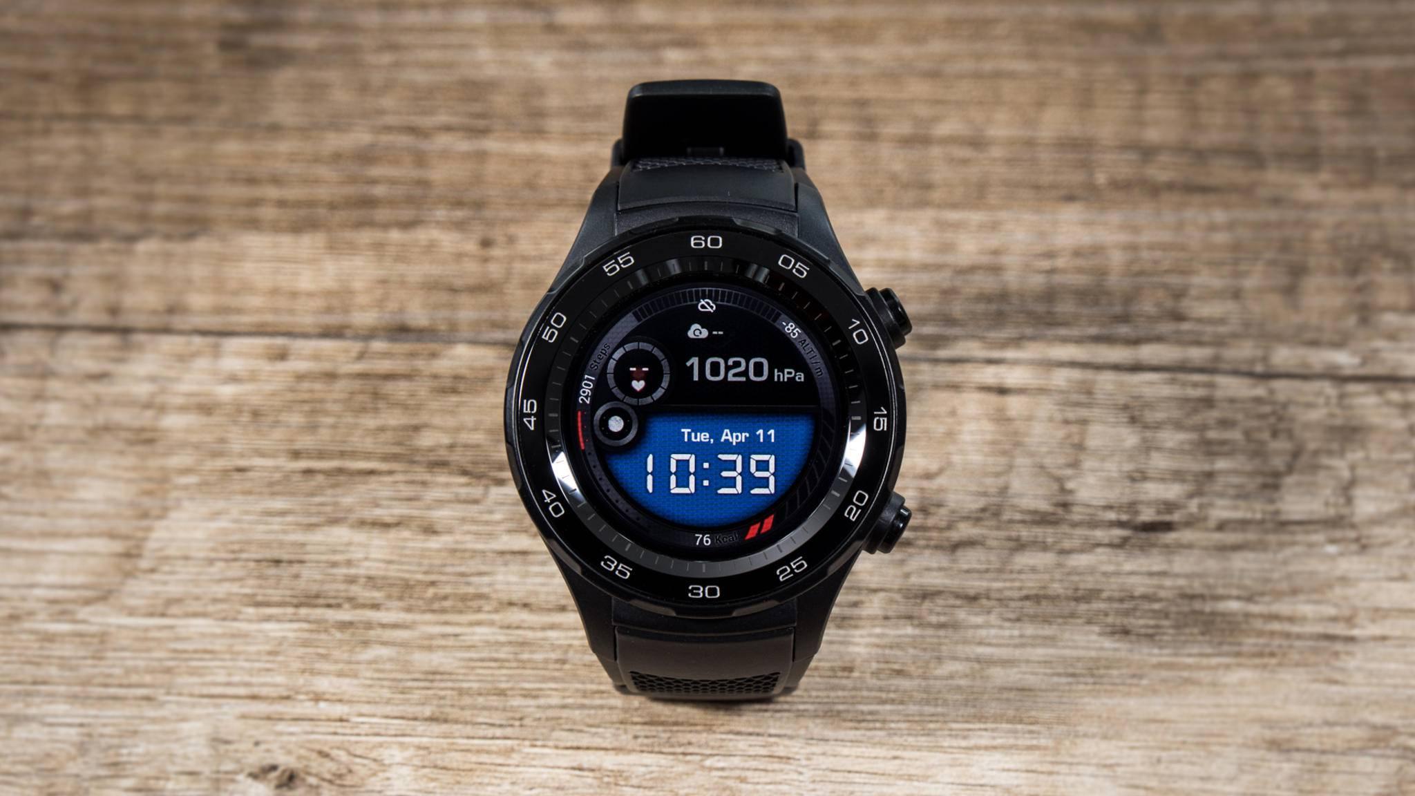 Die Huawei Watch 2 ist eine Smartwatch der Oberklasse.