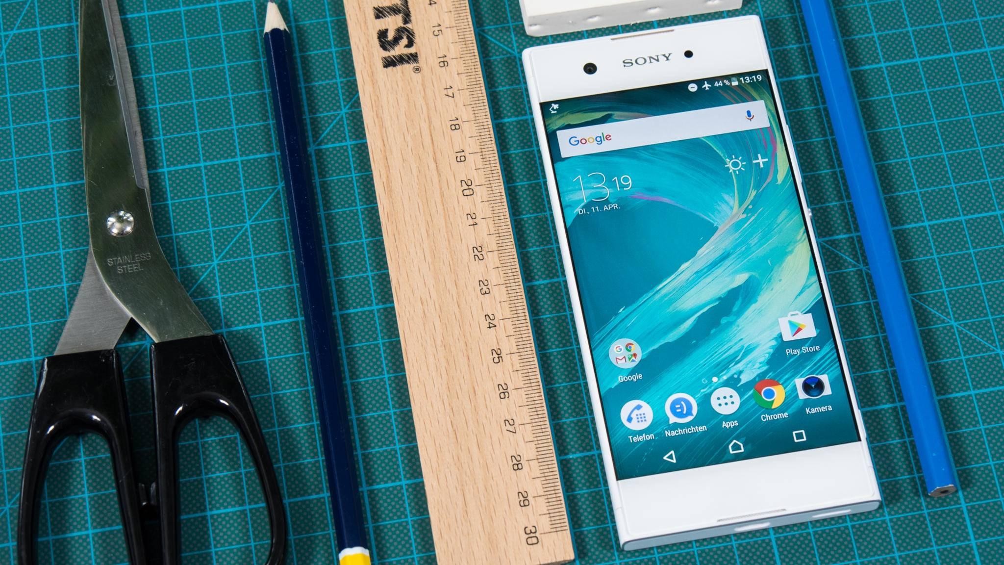 Auch das Mittelklasse-Handy Xperia XA1 bekam ein Oreo-Update.