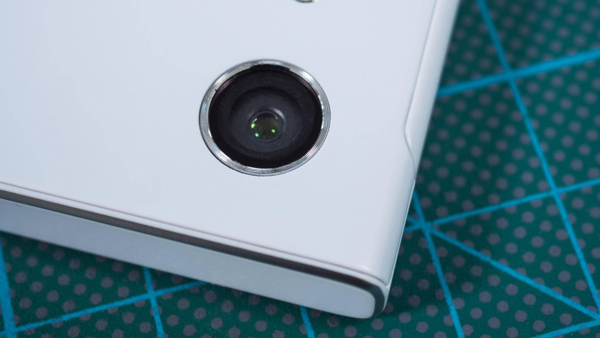 Der Star beim Xperia XA1 ist die Kamera.
