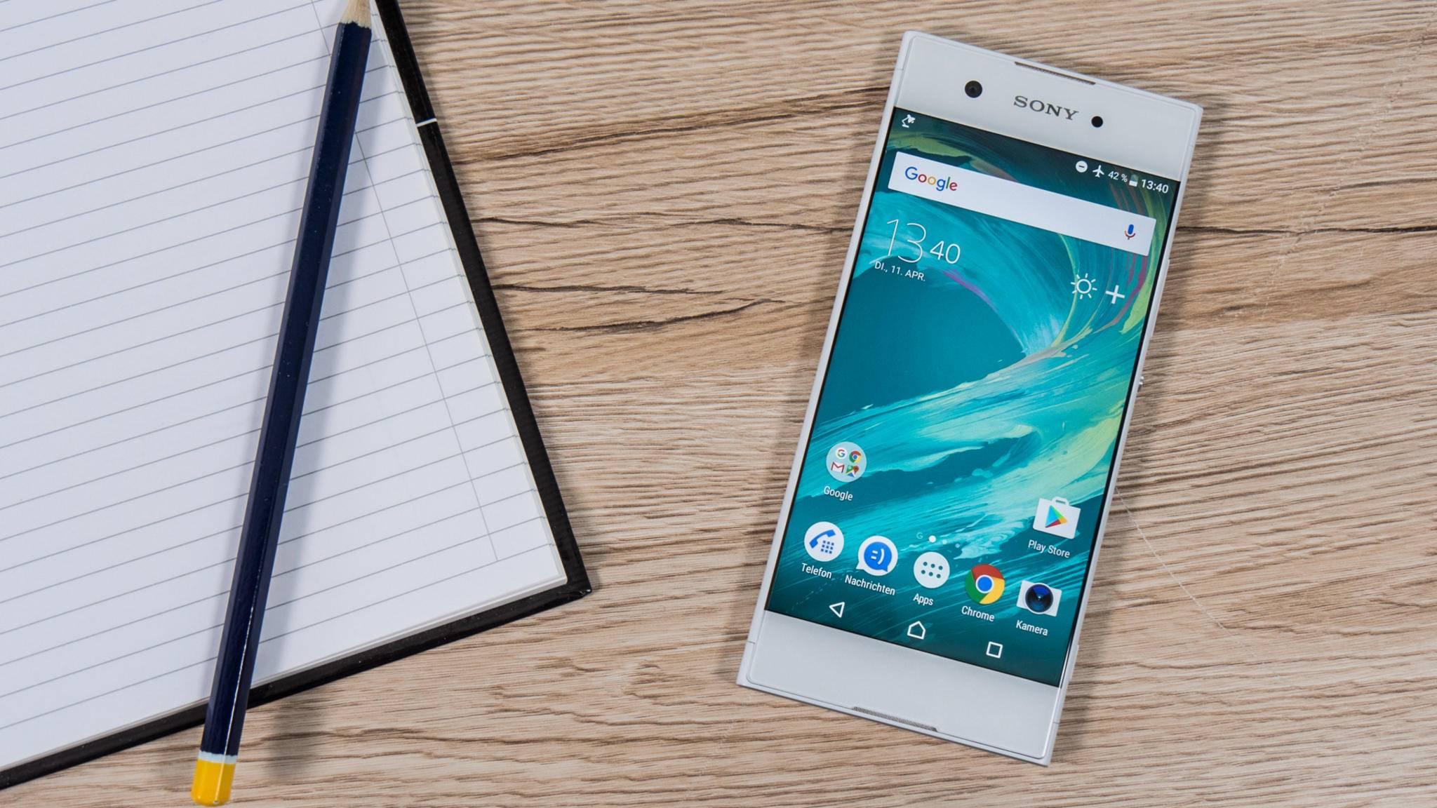 Bekommt dank Android 8.0 Oreo neue Features: Das Sony Xperia XA1.