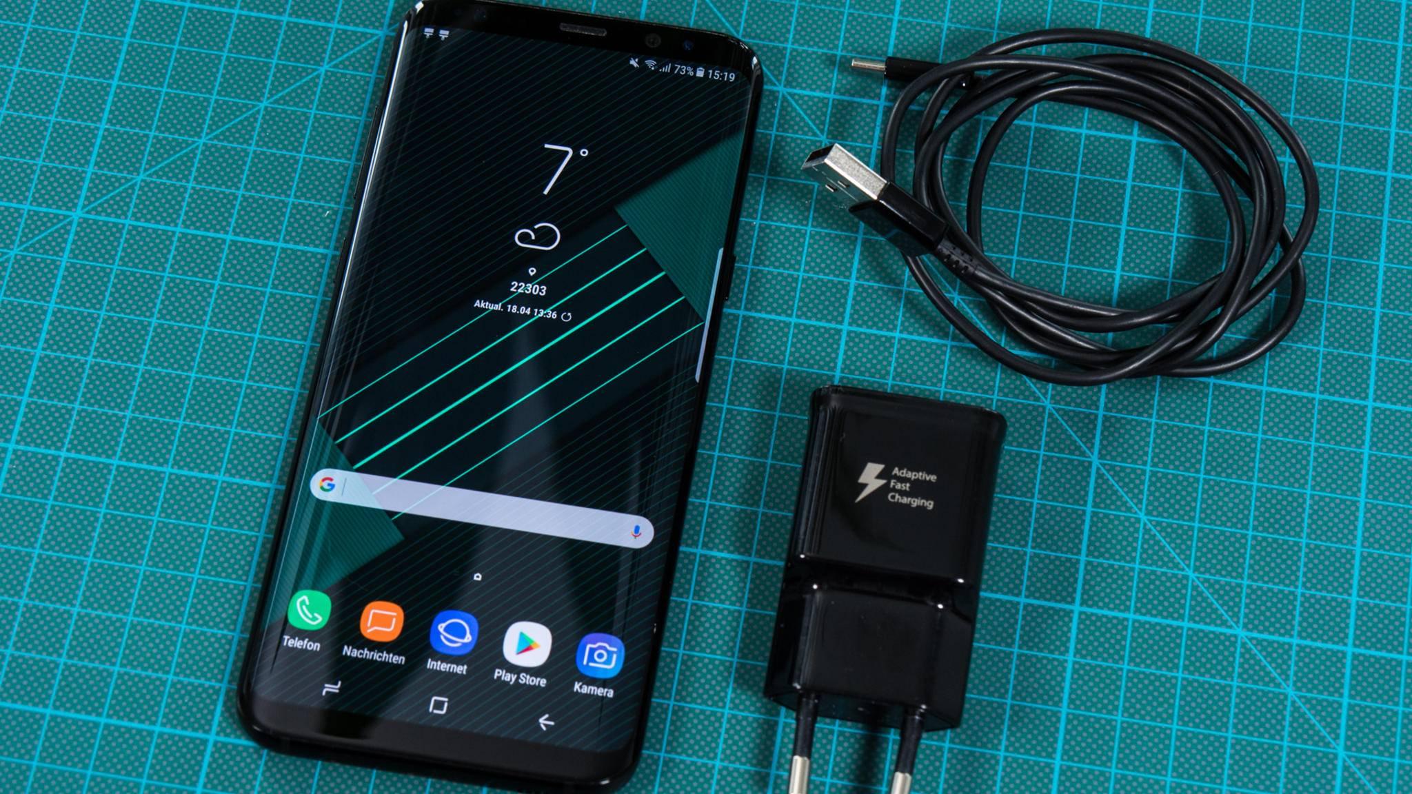 Das Galaxy S8 bekommt schon bald seinen ersten Patch.