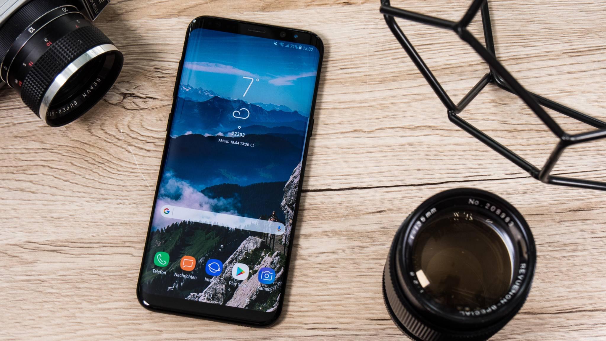 Samsung musste das Android-Oreo.Update für das Galaxy S8 stoppen.