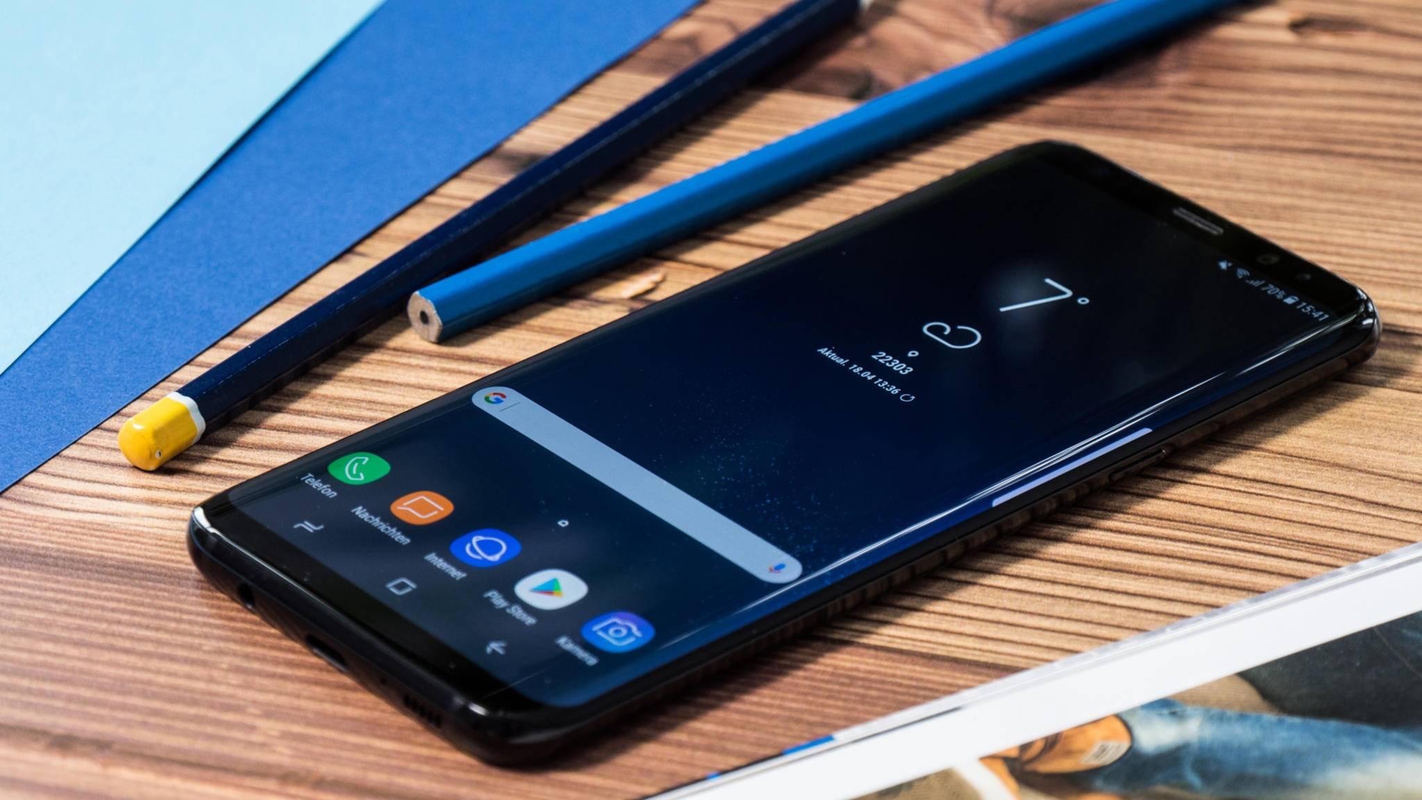 Auch das Galaxy S8 Plus soll bald in den Genuss der Beta-Version von Android 8.0 Oreo kommen.