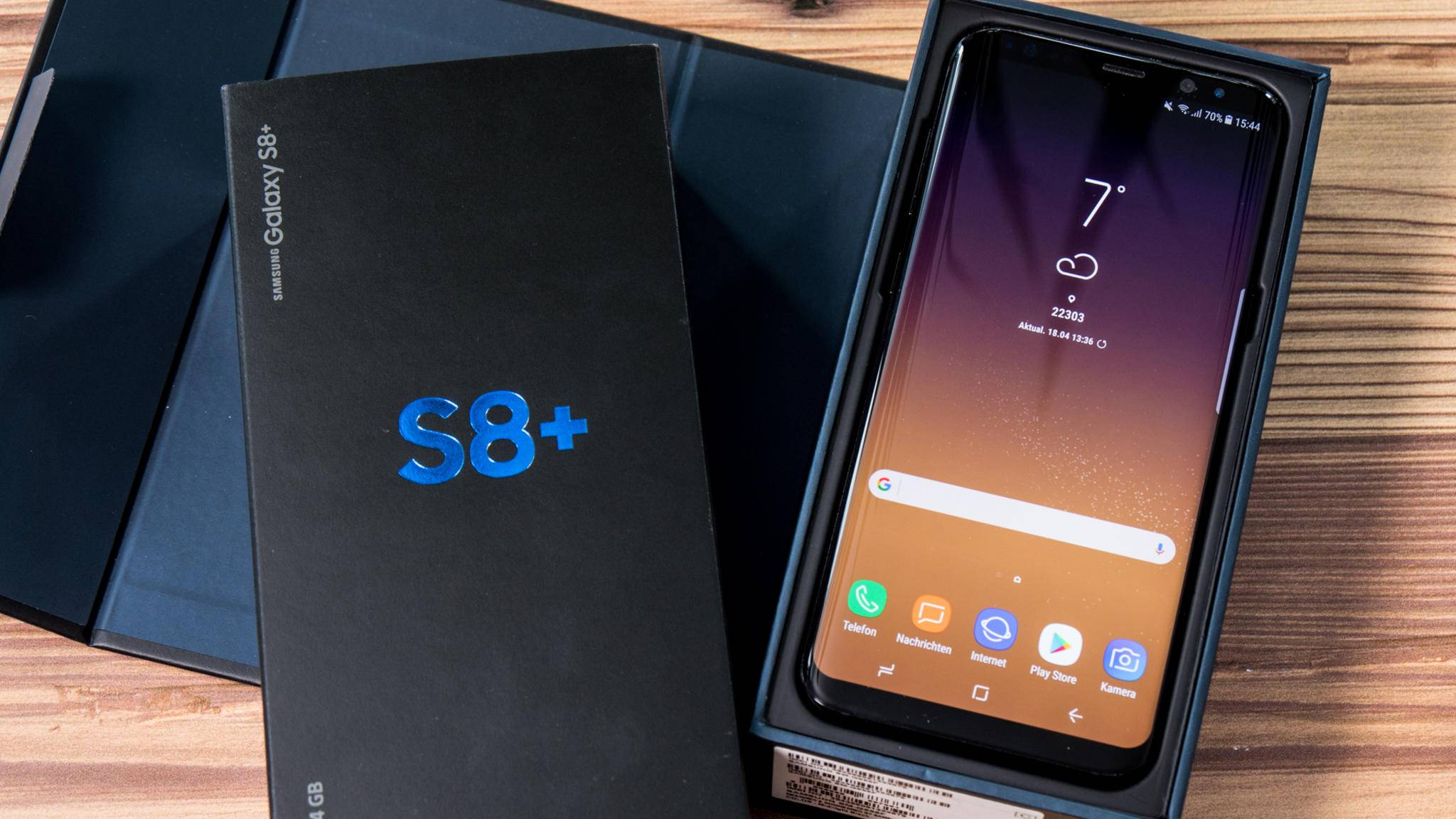 Der Fingerabdrucksensor des Galaxy S8 kann den Windows-10-PC entsperren.