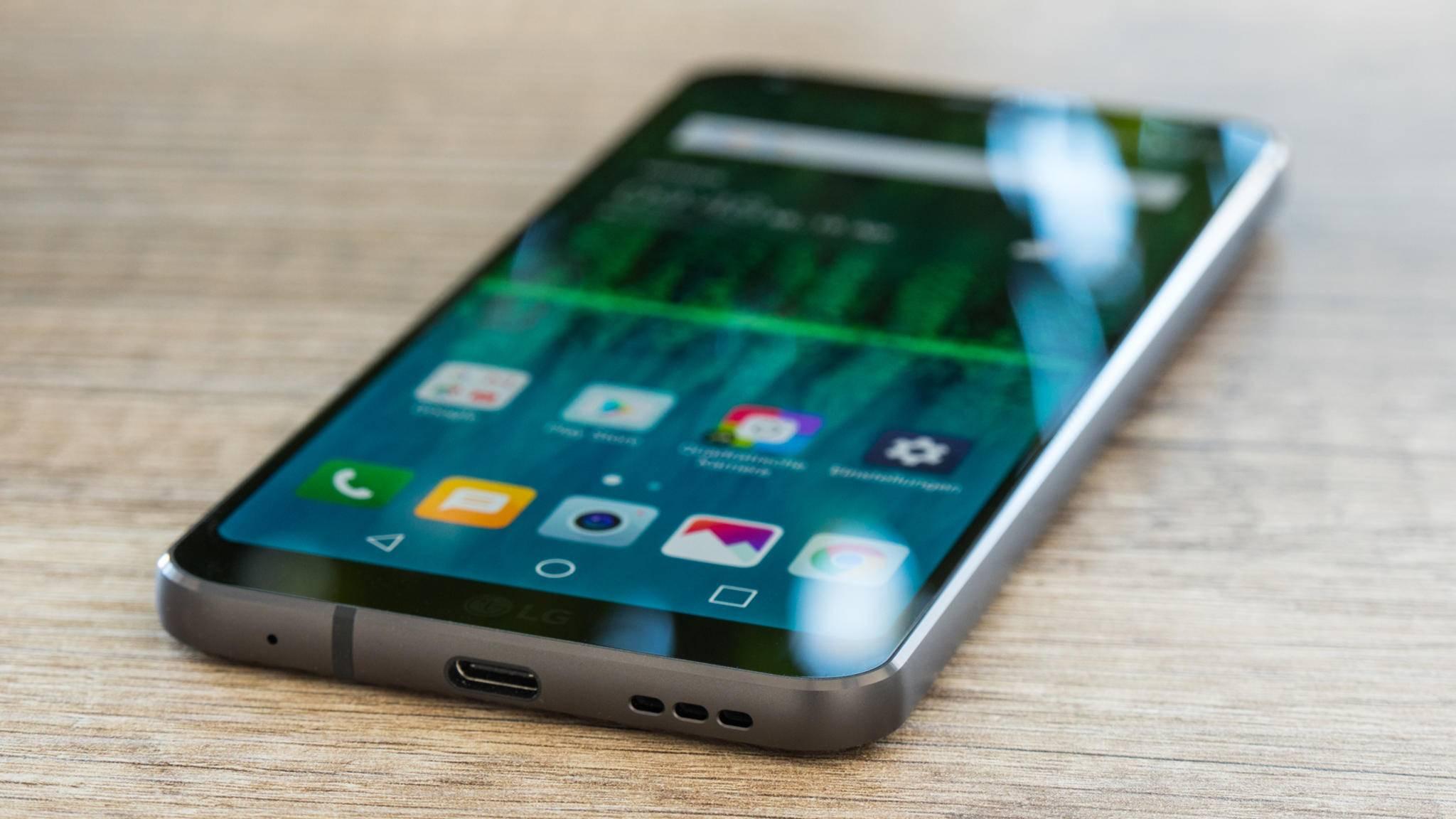 Der Nachfolger des LG G6 soll Quickcharge 4.0 unterstützen.