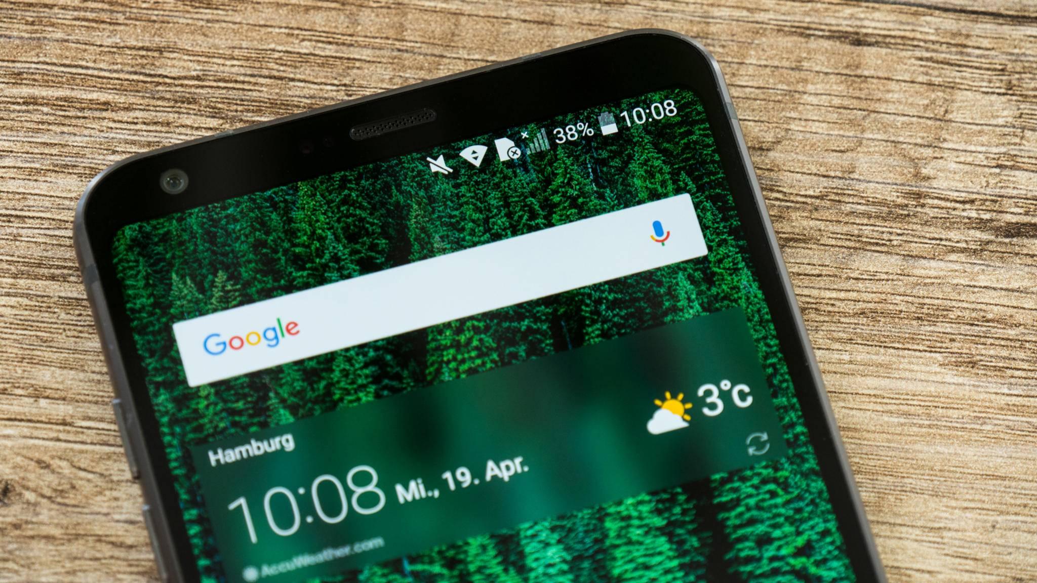 Die Statusleiste zeigt die wichtigsten Infos zu einem Android-Gerät.