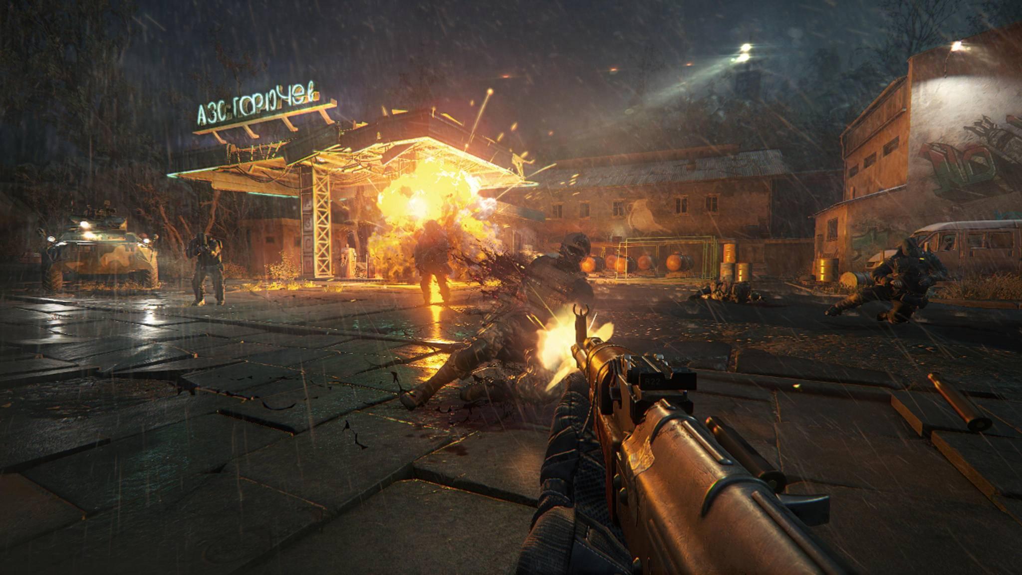 """Subtil ist es zwar nicht gerade, aber Du kannst Dich in """"Sniper Ghost Warrior 3"""" auch mit dem Sturmgewehr ins Getümmel stürzen."""