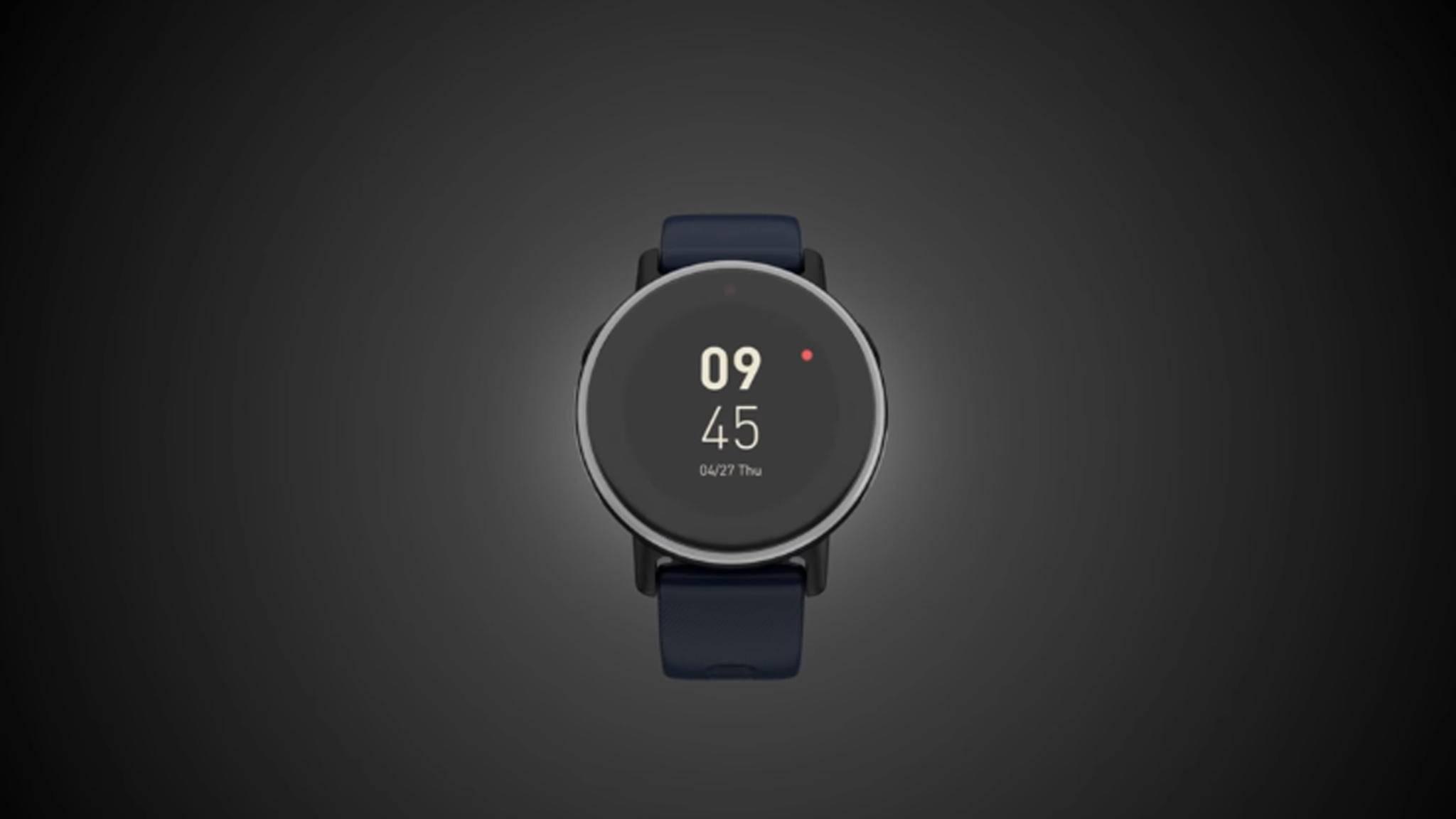Kommt für voraussichtlich 139 Euro auf den Markt: Die Acer Leap Ware-Smartwatch.