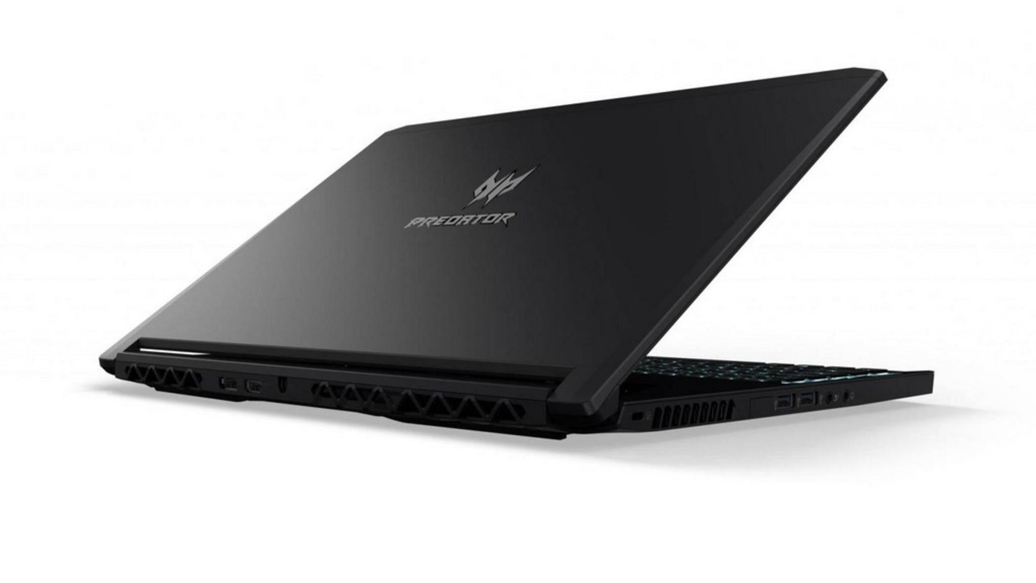 Der Acer Predator Triton soll trotz seiner flachen Form keine Kompromisse machen.