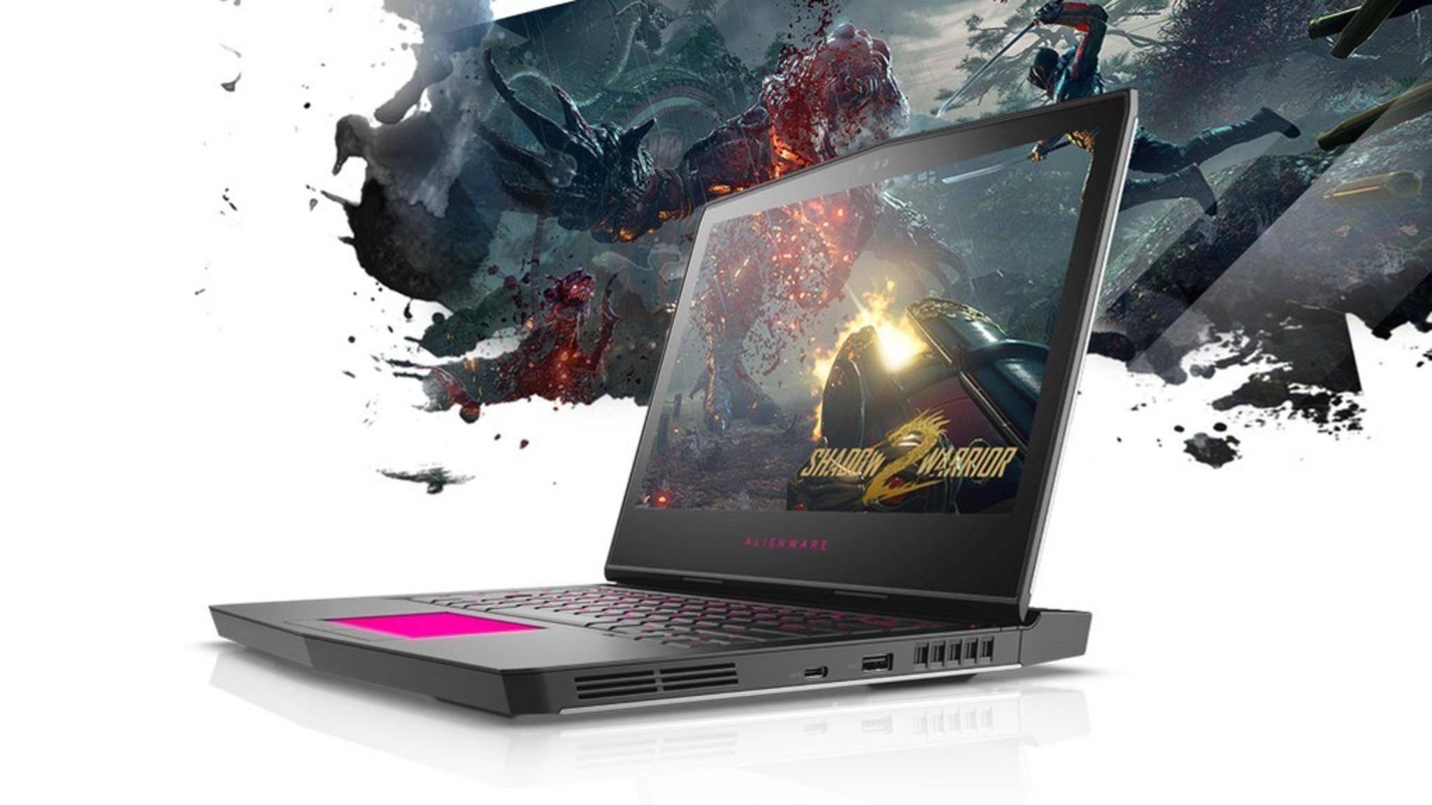 Kleinere Gaming-Laptops wie das Alienware 13 bieten nicht die schnellste Grafikkarte.