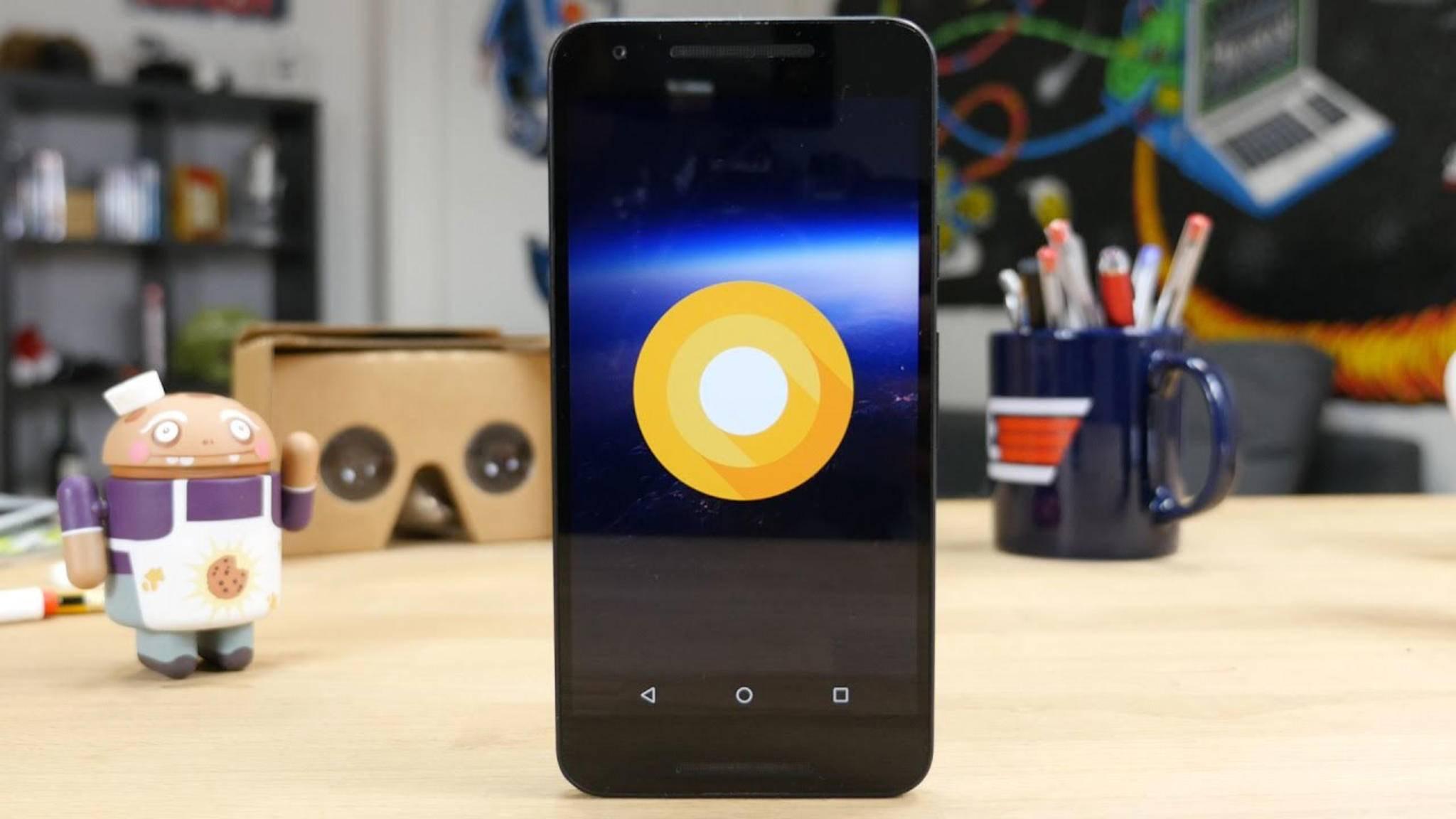 Android 8.0 O scheint Always-On-Display als Feature mitzubringen.