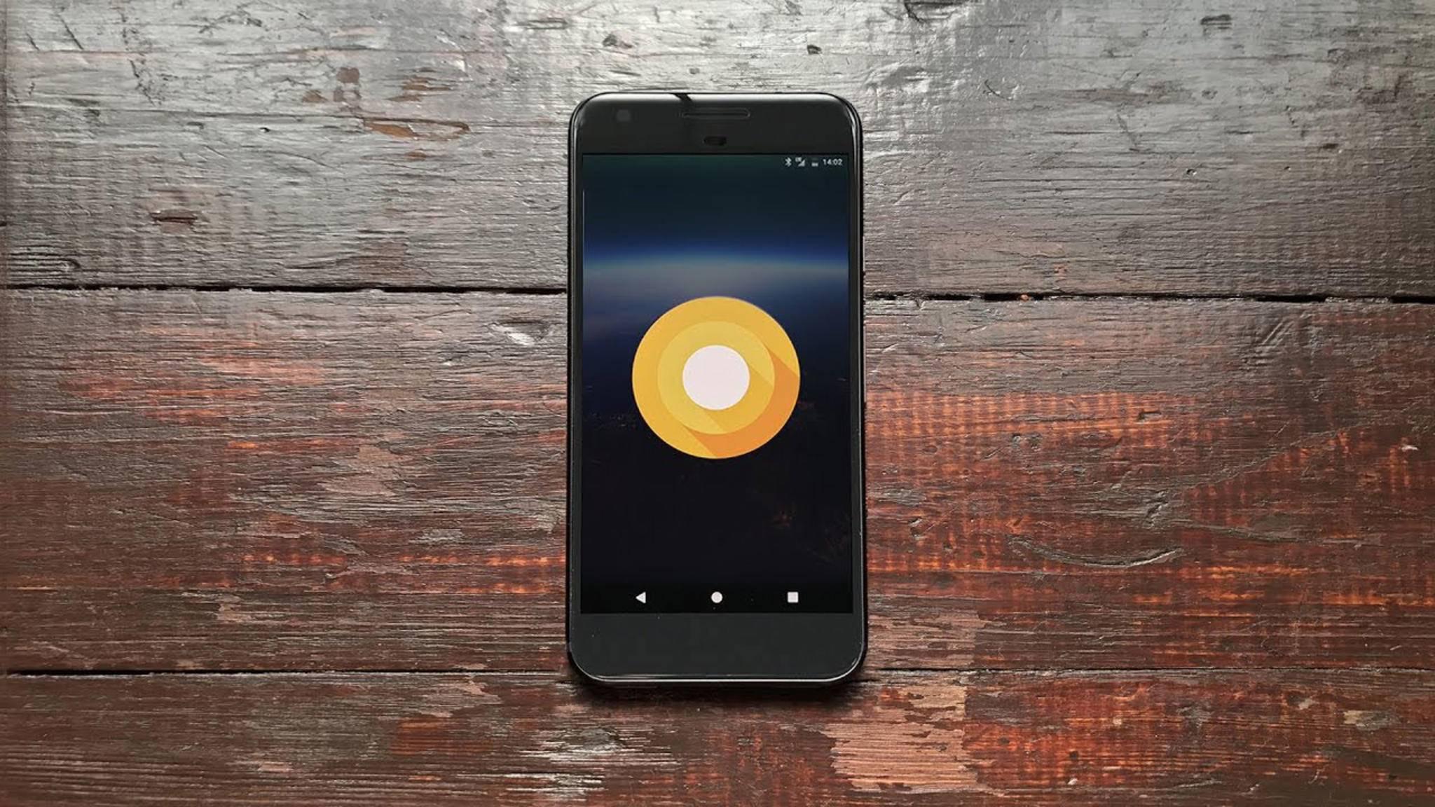 Android O könnte schon in Kürze auf den ersten Google-Smartphones ankommen.