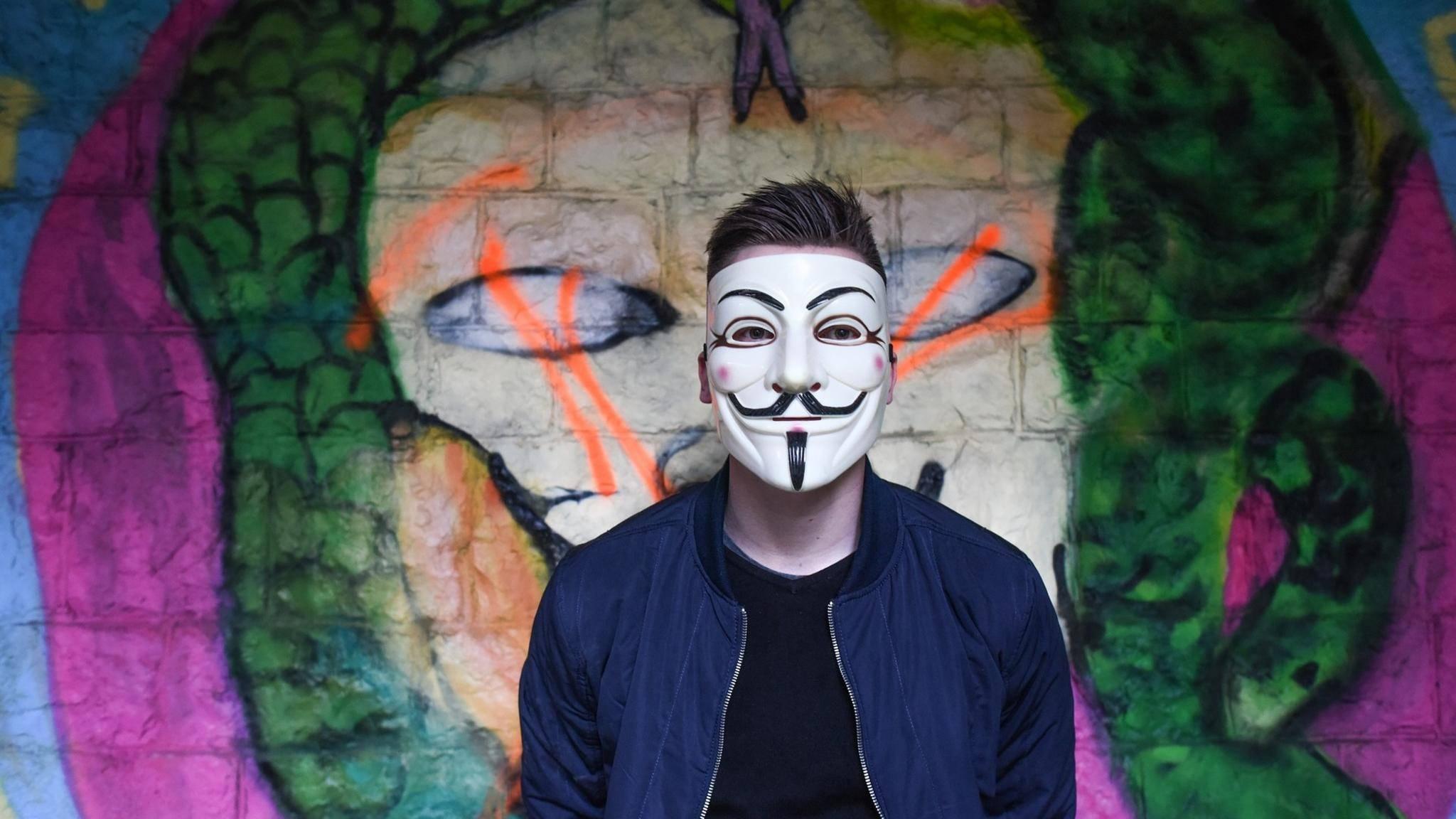 Hackergruppen wie Anonymous haben in der Regel kein Interesse am Hacken der Laptops von Durchschnittsbürgern.