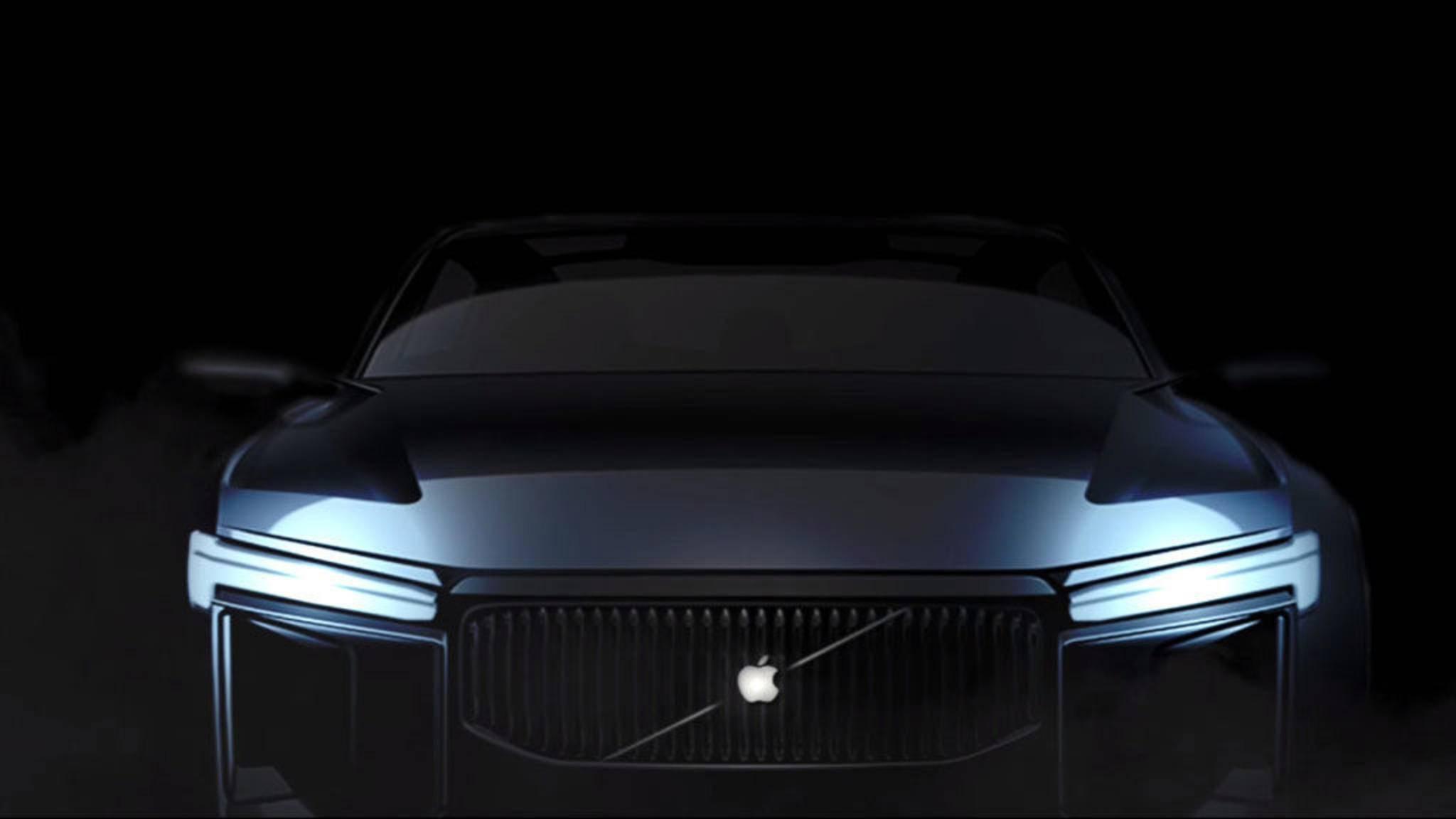 Könnte schon in fünf Jahren über die Straßen rollen: das Apple Car (Konzeptbild).