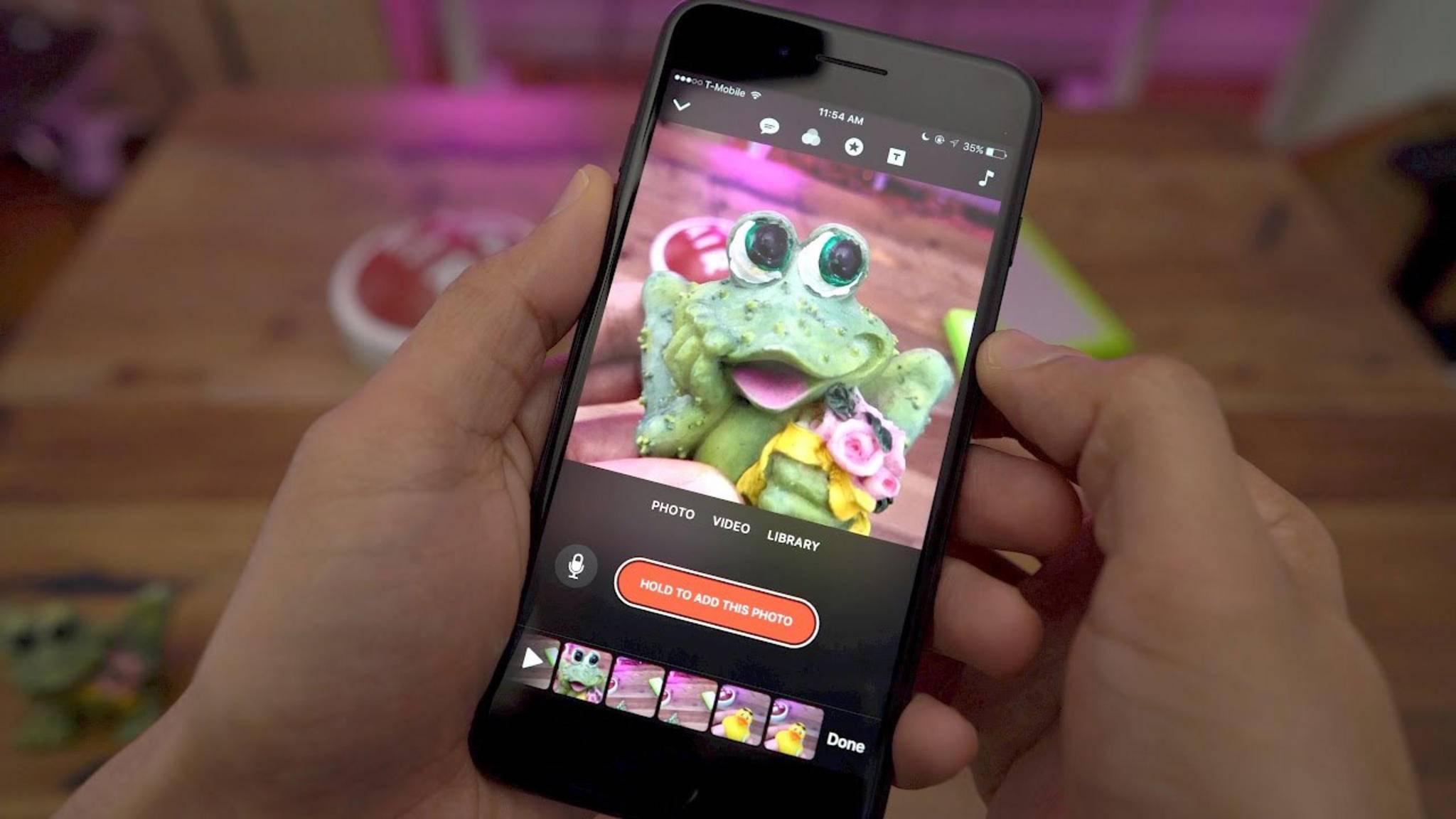 Apple Clips kommt demnächst vorinstalliert auf jedem iPhone daher.