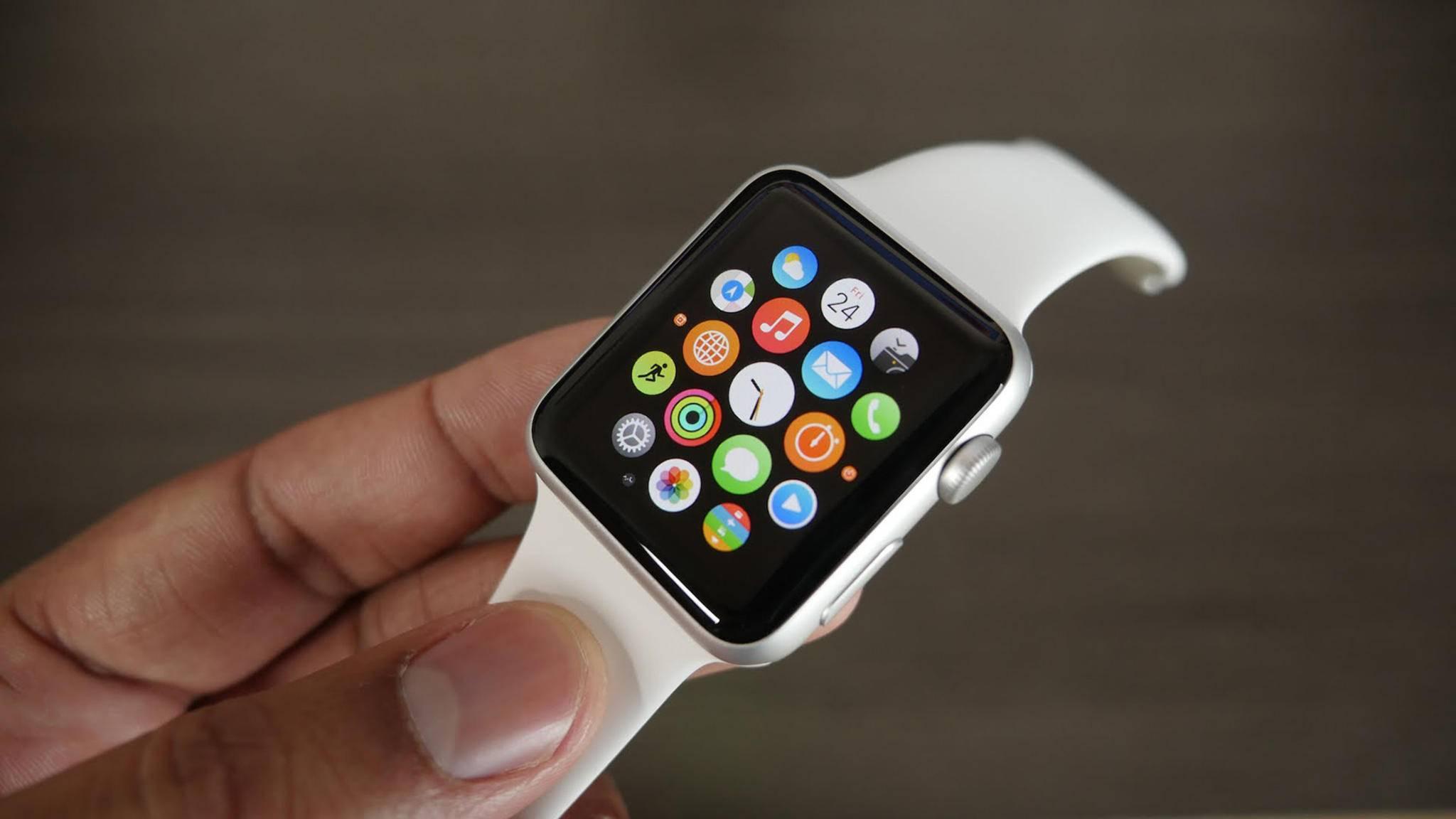 Die Apple Watch geizt nicht mit Apps von Drittanbietern.