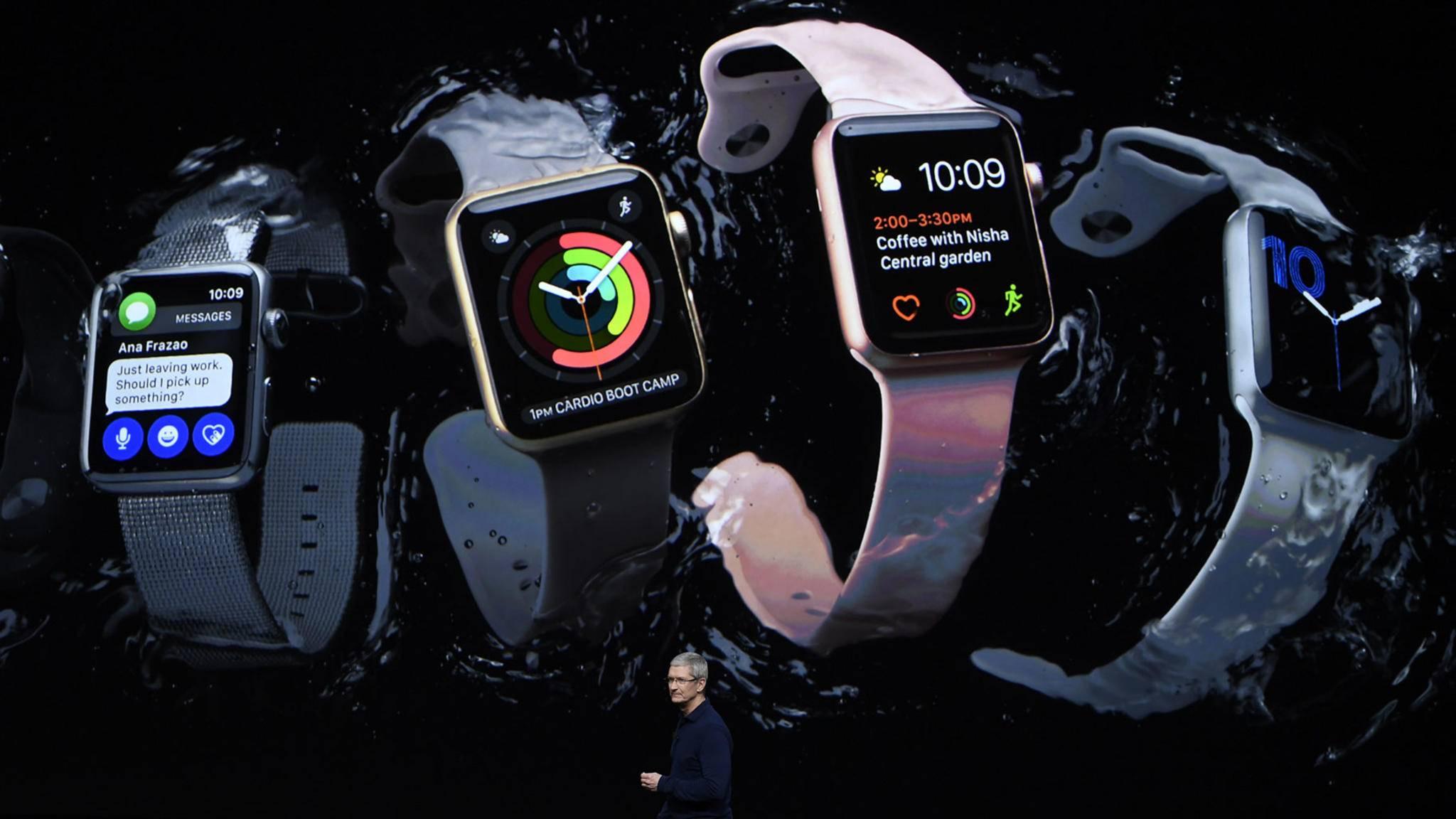 Im dritten Quartal könnte der Launch der Apple Watch Series 3 erfolgen.
