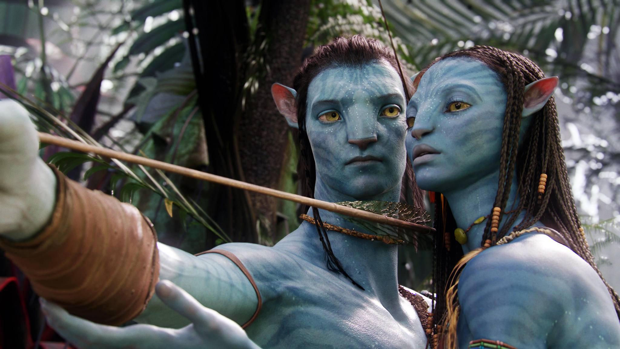 Das Ziel klar vor Augen: Jake und Neytiri kehren für vier weitere Filme zurück.